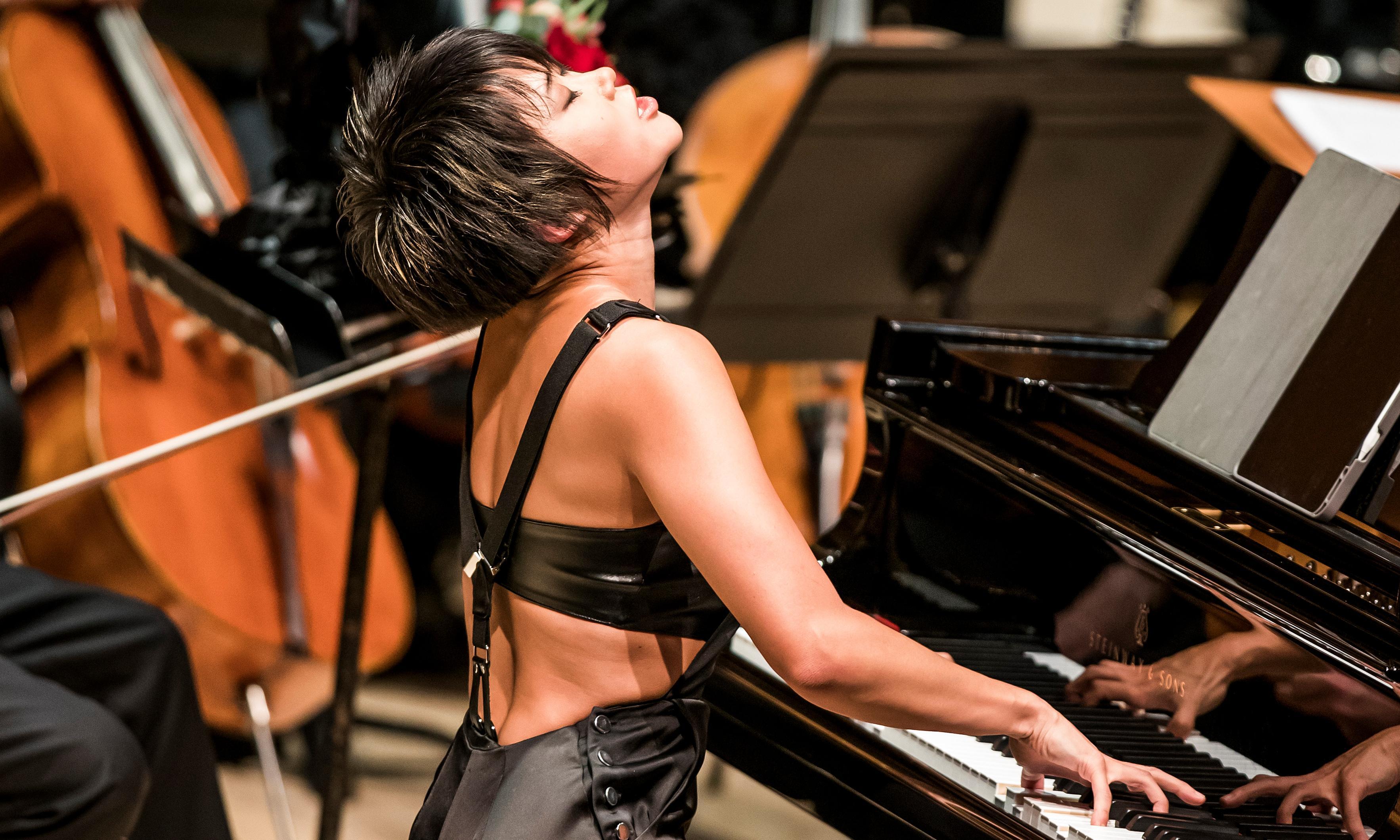 LA Philharmonic/Dudamel/Wang review – crisp and vivid detail