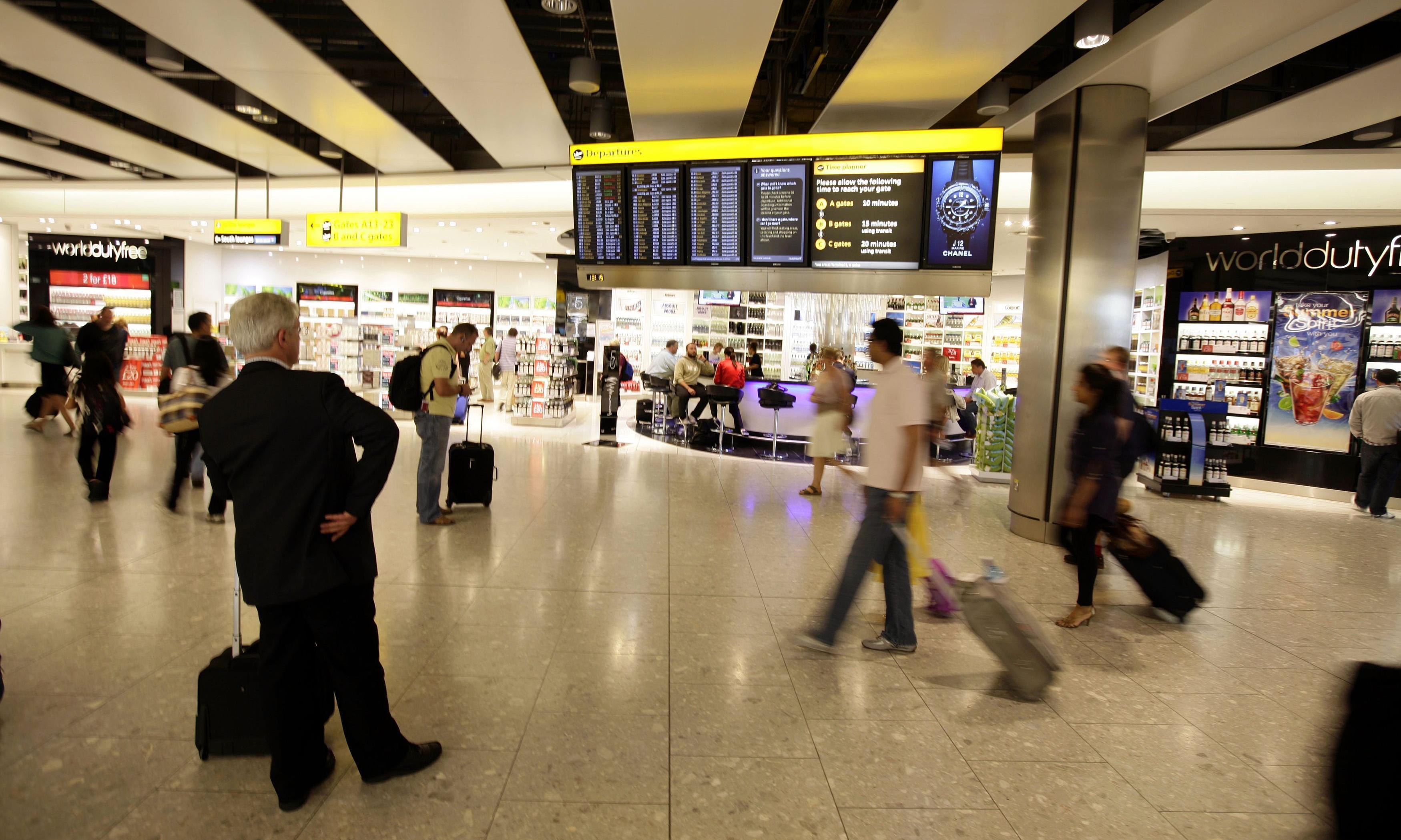 Heathrow eateries to take least sustainable fish off menus