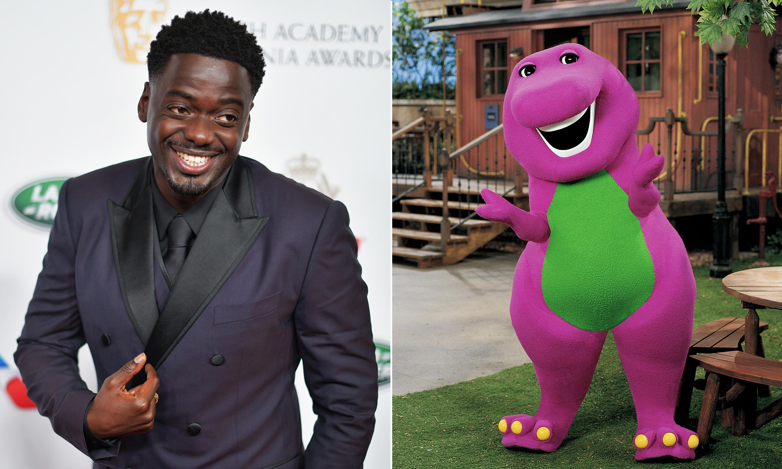Daniel Kaluuya to produce live-action Barney the Dinosaur movie