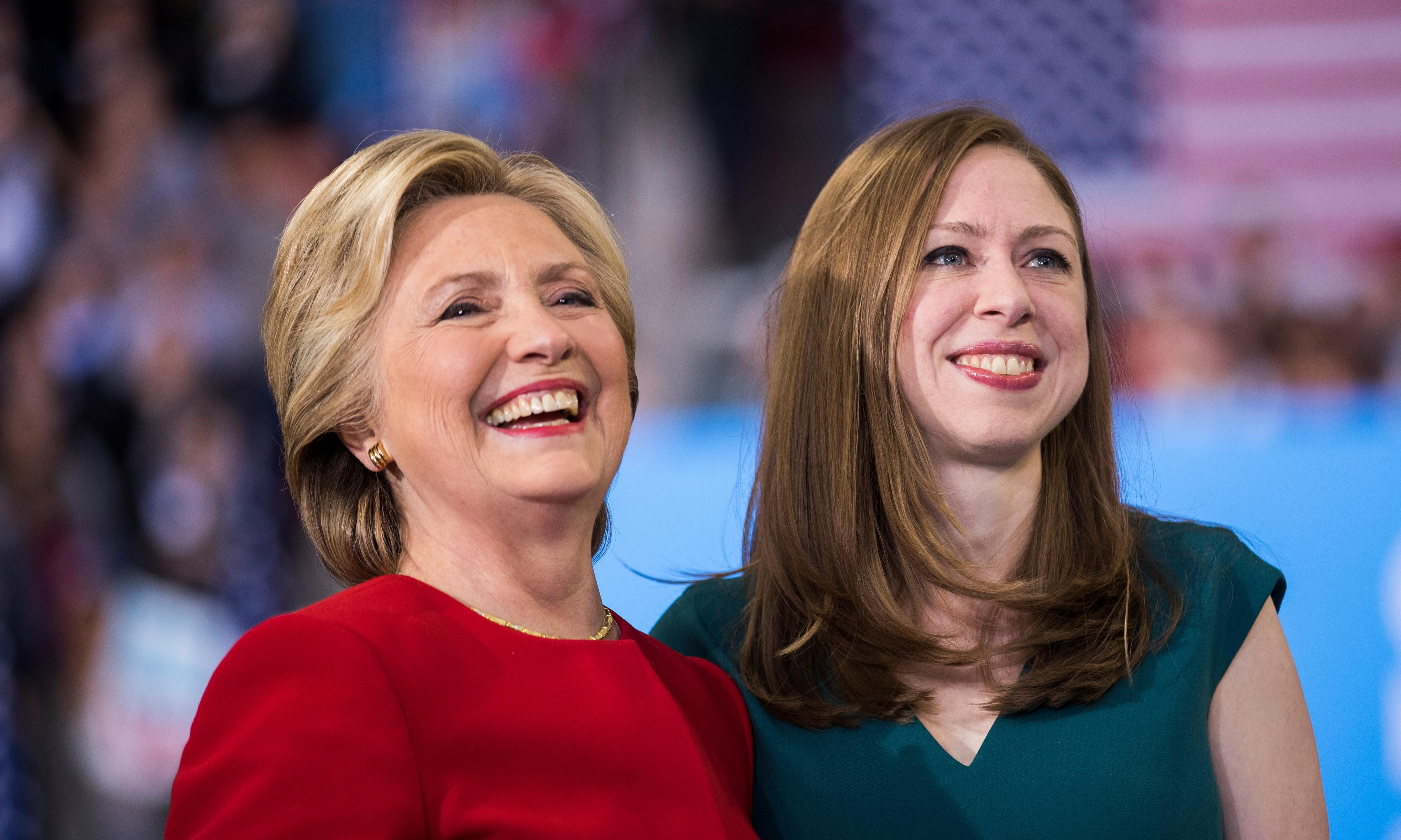 Hillary and Chelsea Clinton co-write The Book of Gutsy Women