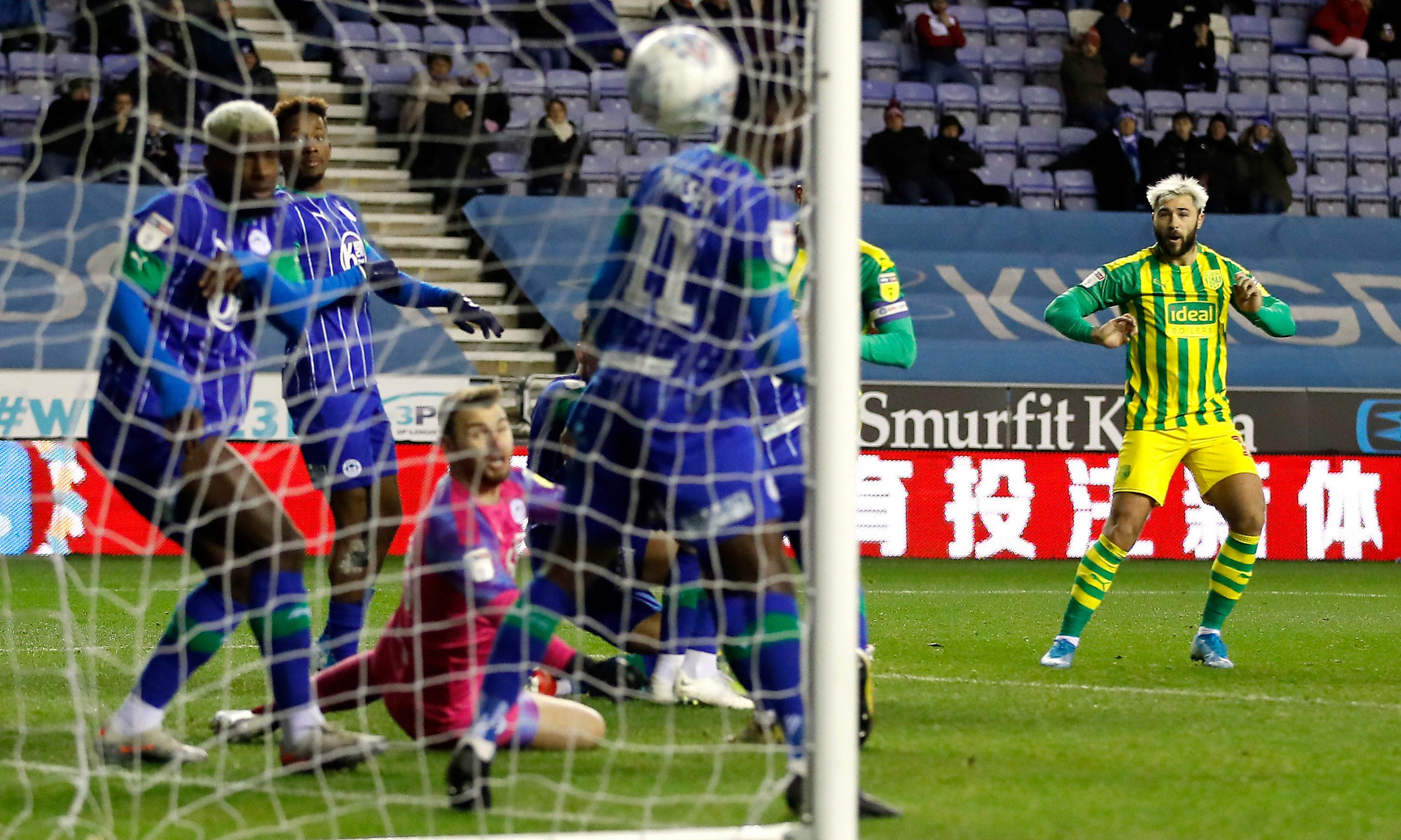 Championship: Wigan hold West Brom, Swansea's Cooper rages at referee