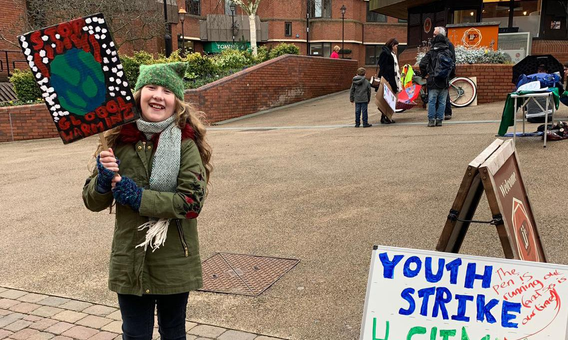 March of the under 10s – generation growing up as protesters