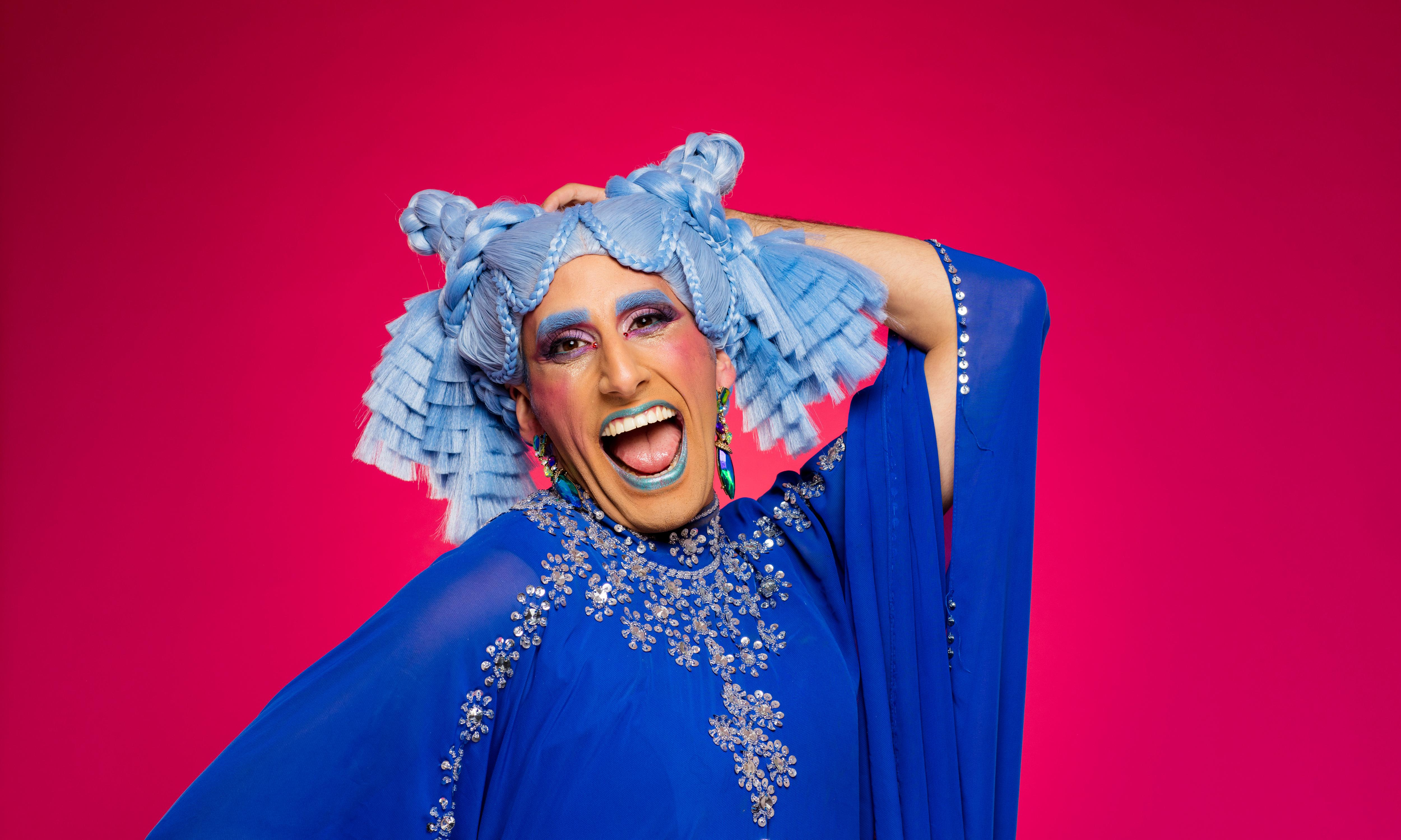 Muslim drag queen Amrou Al-Kadhi: 'Whenever the drag came off, I'd have a nervous breakdown'