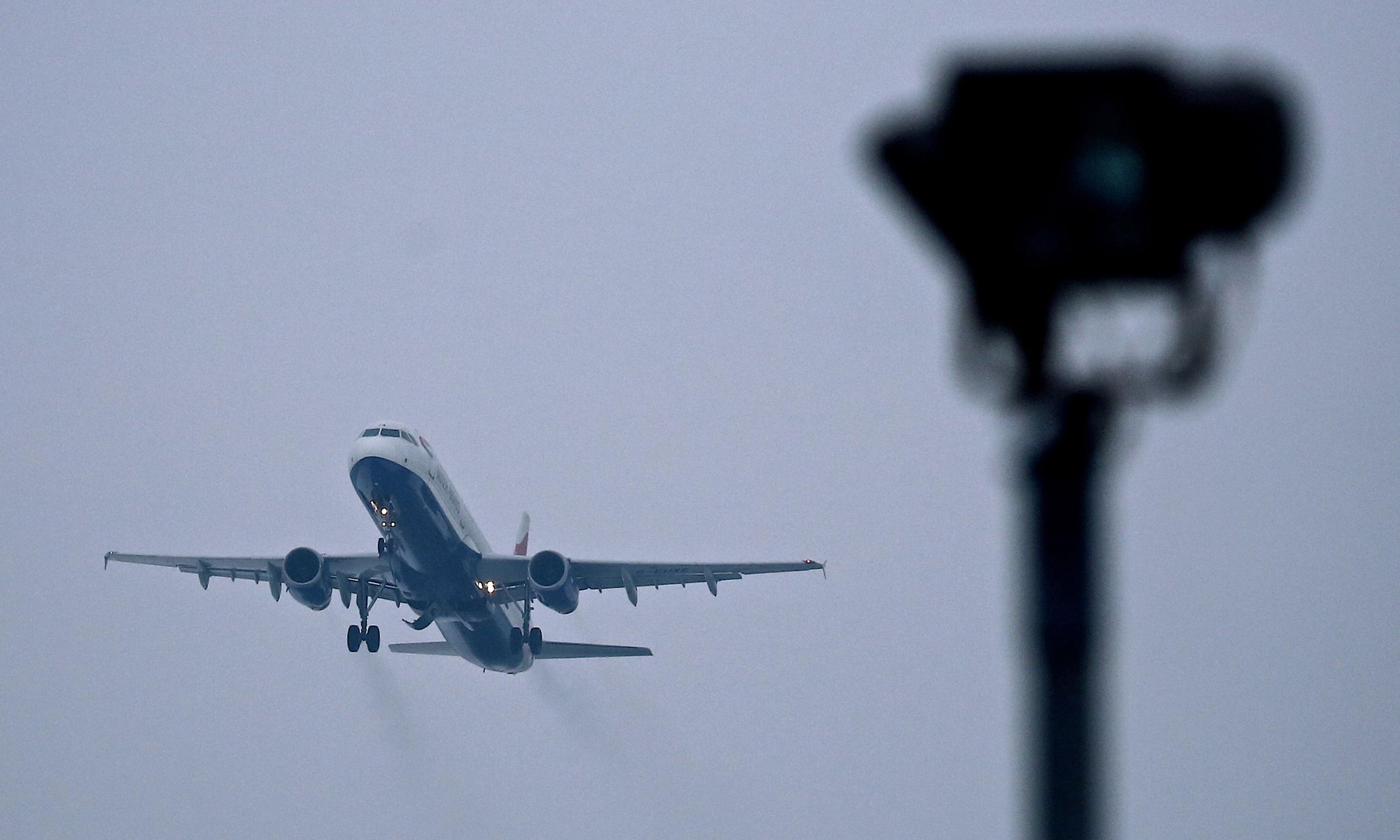Heathrow arrivals halted by RAF during 'security incident'