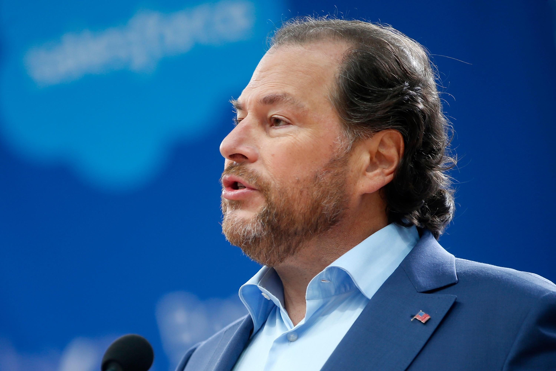 Salesforce CEO: tech billionaires 'hoard their money' and won't help homeless