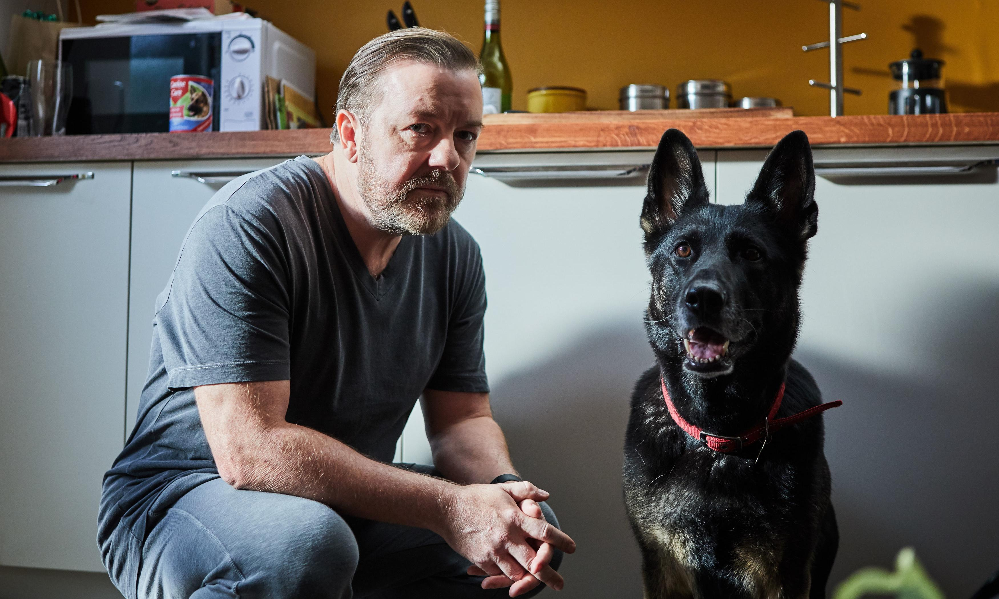 Ricky Gervais offers proof, if needed, that there is life after The Office