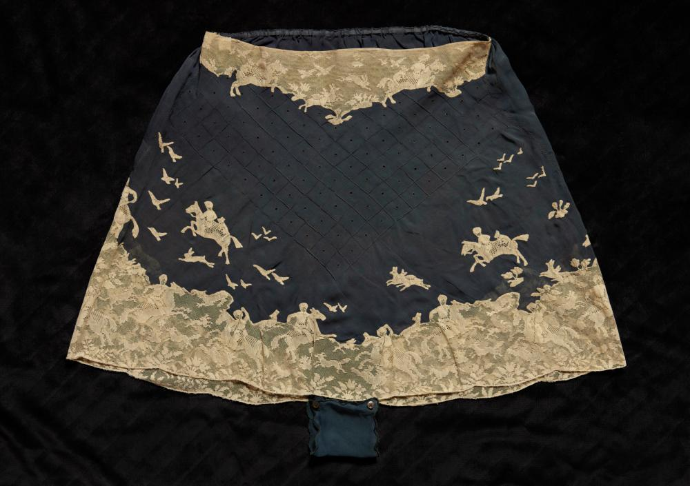 Silk chiffon knickers, possibly Hitrovo, 1930s.