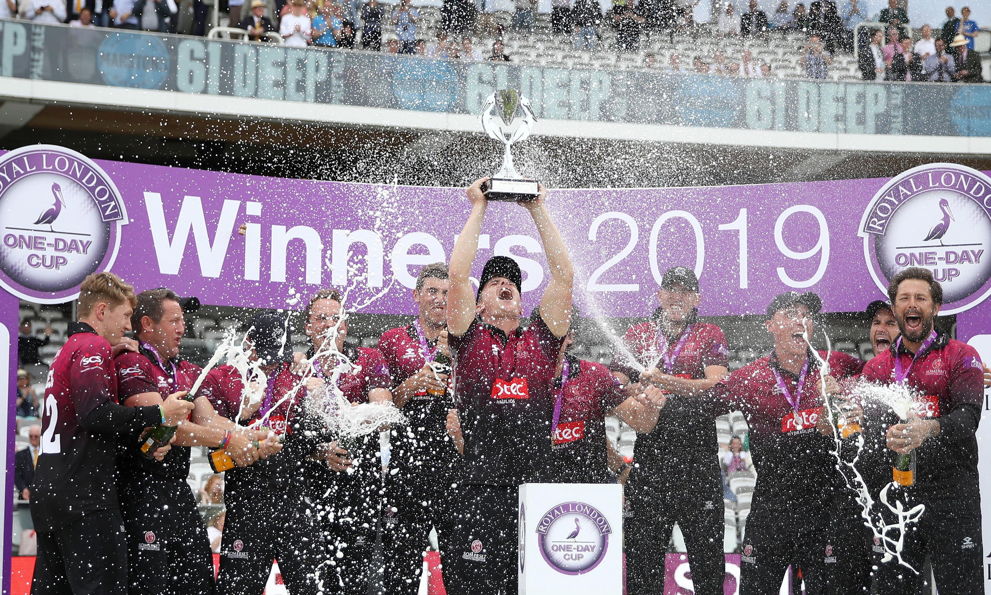 James Hildreth guides Somerset to Royal London Cup final win over Hampshire