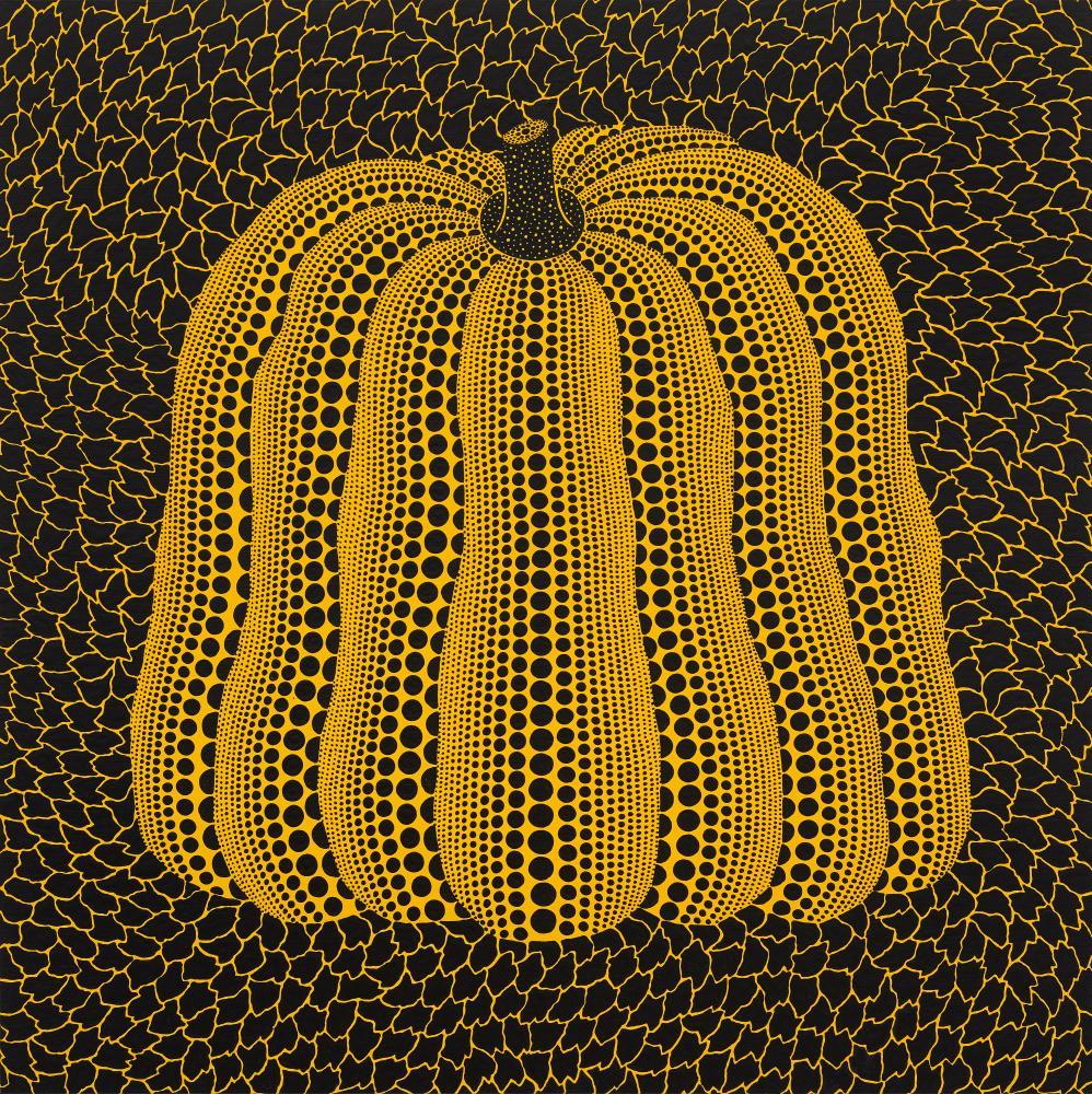 Yayoi Kusama's Pumpkin, 2018.
