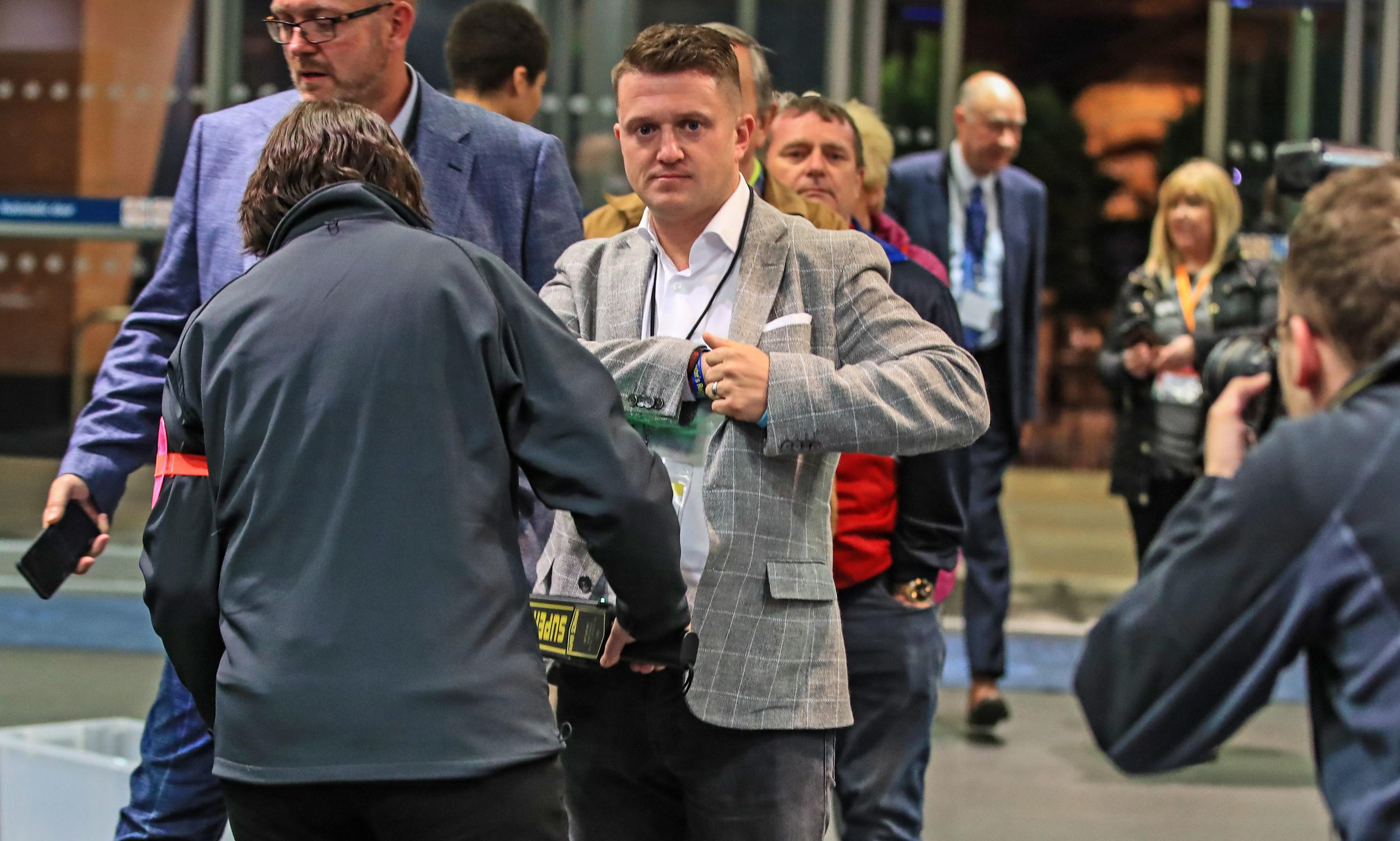 Humiliated Tommy Robinson sneaks out of election count early