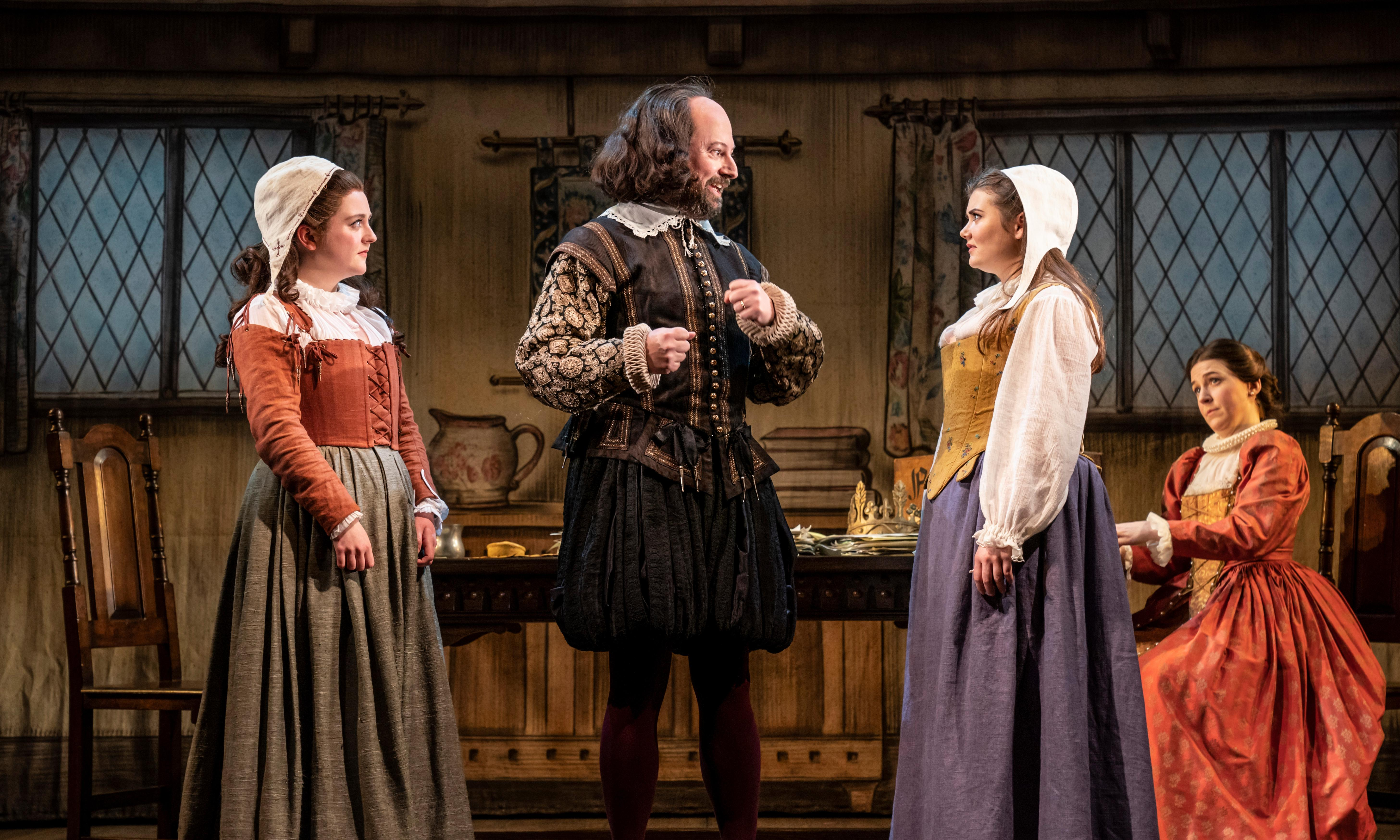 The Upstart Crow review – authentically Shakespearean right down to the puffling pants