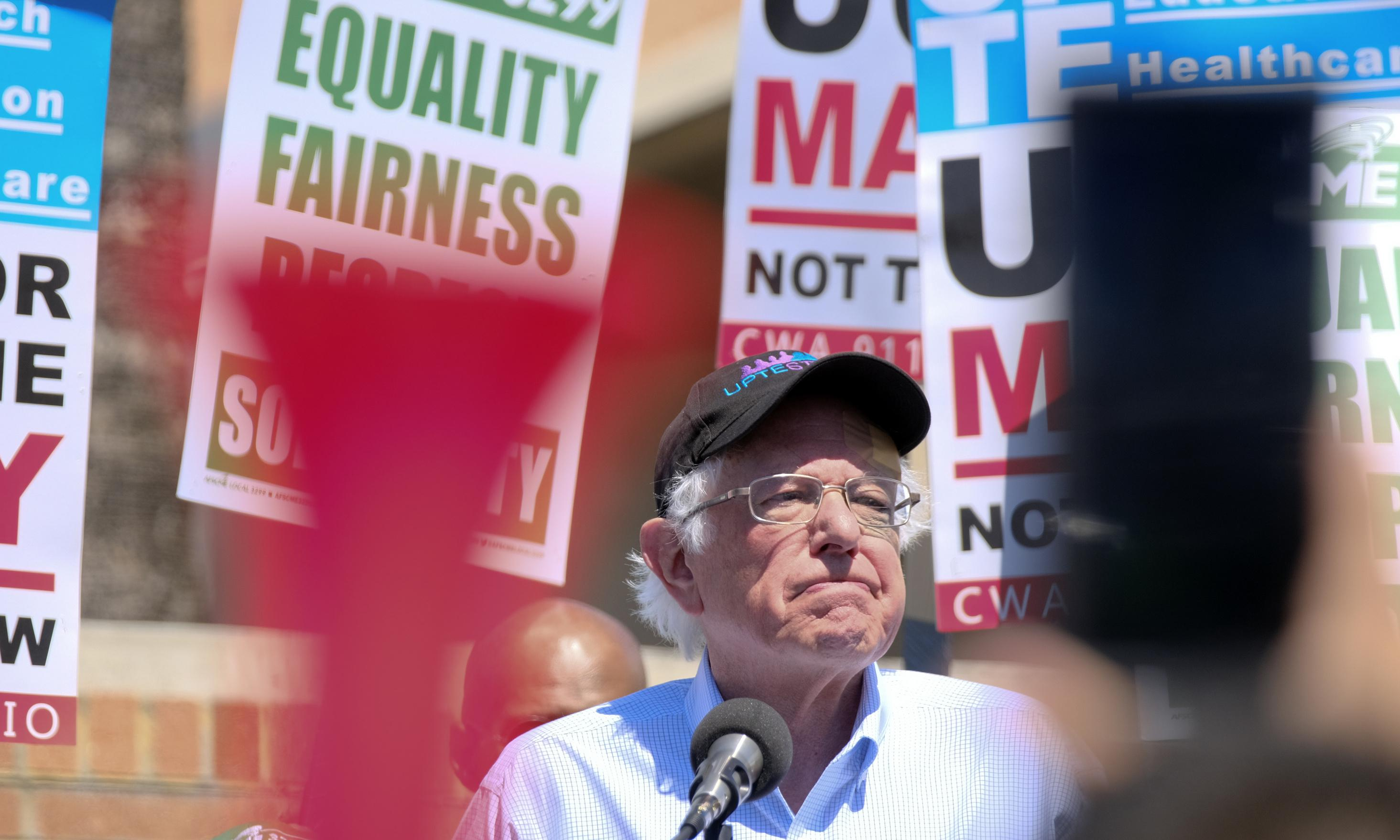 California visit presents key test for Bernie Sanders' 2020 prospects