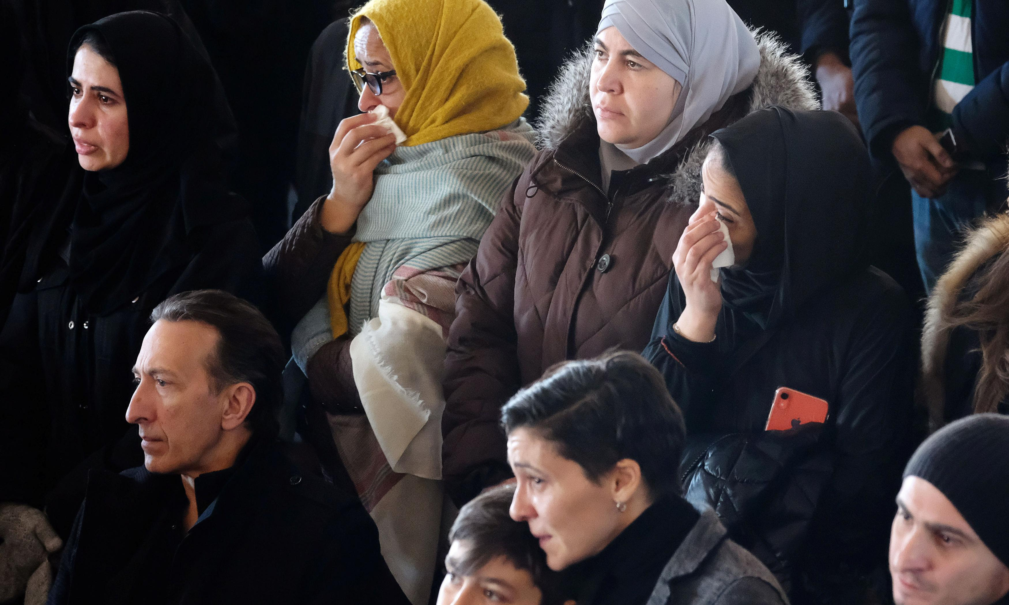 Thousands mourn seven Syrian siblings killed in Canada fire