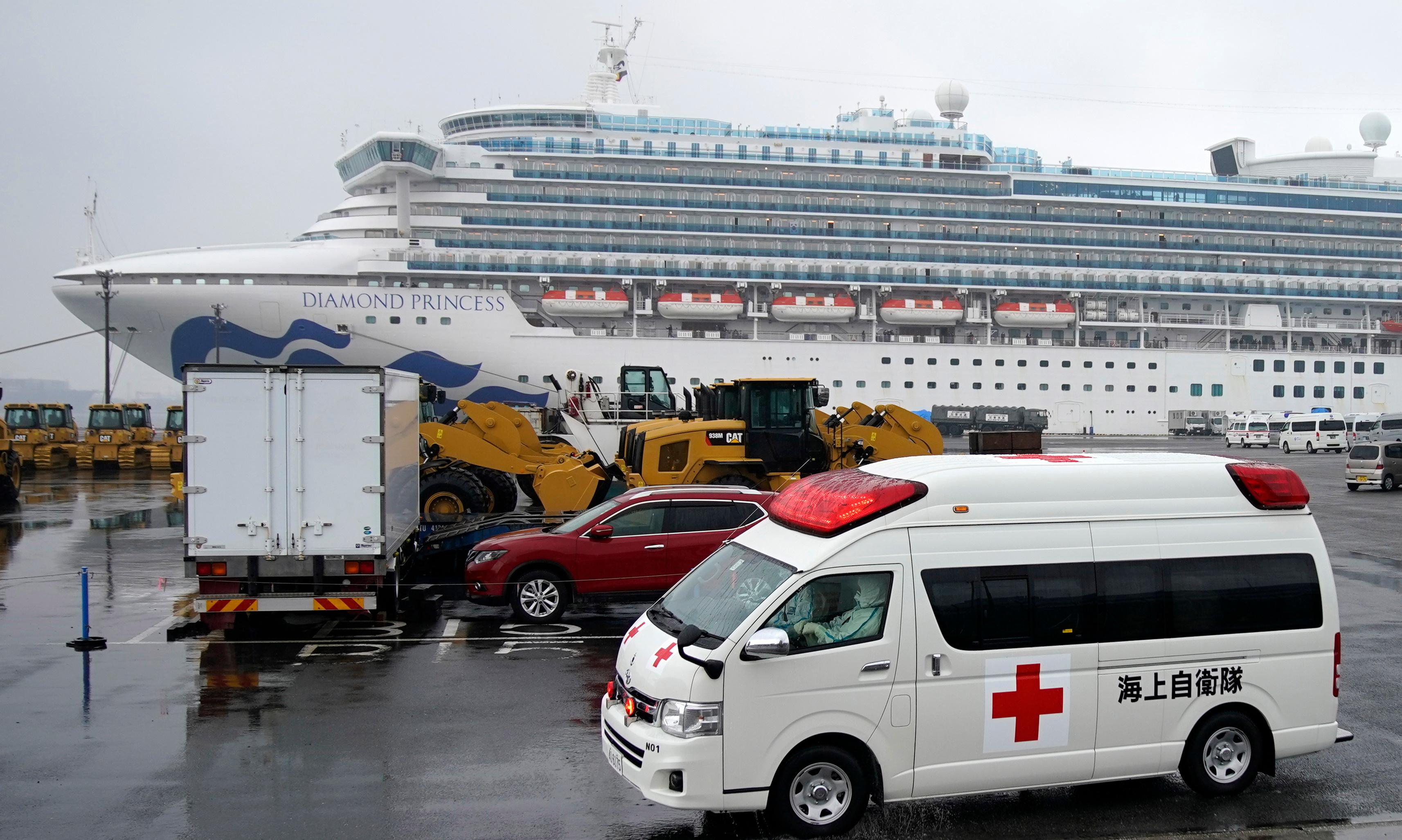 Coronavirus: 70 more cases on Japan cruise ship as China infections pass 68,000