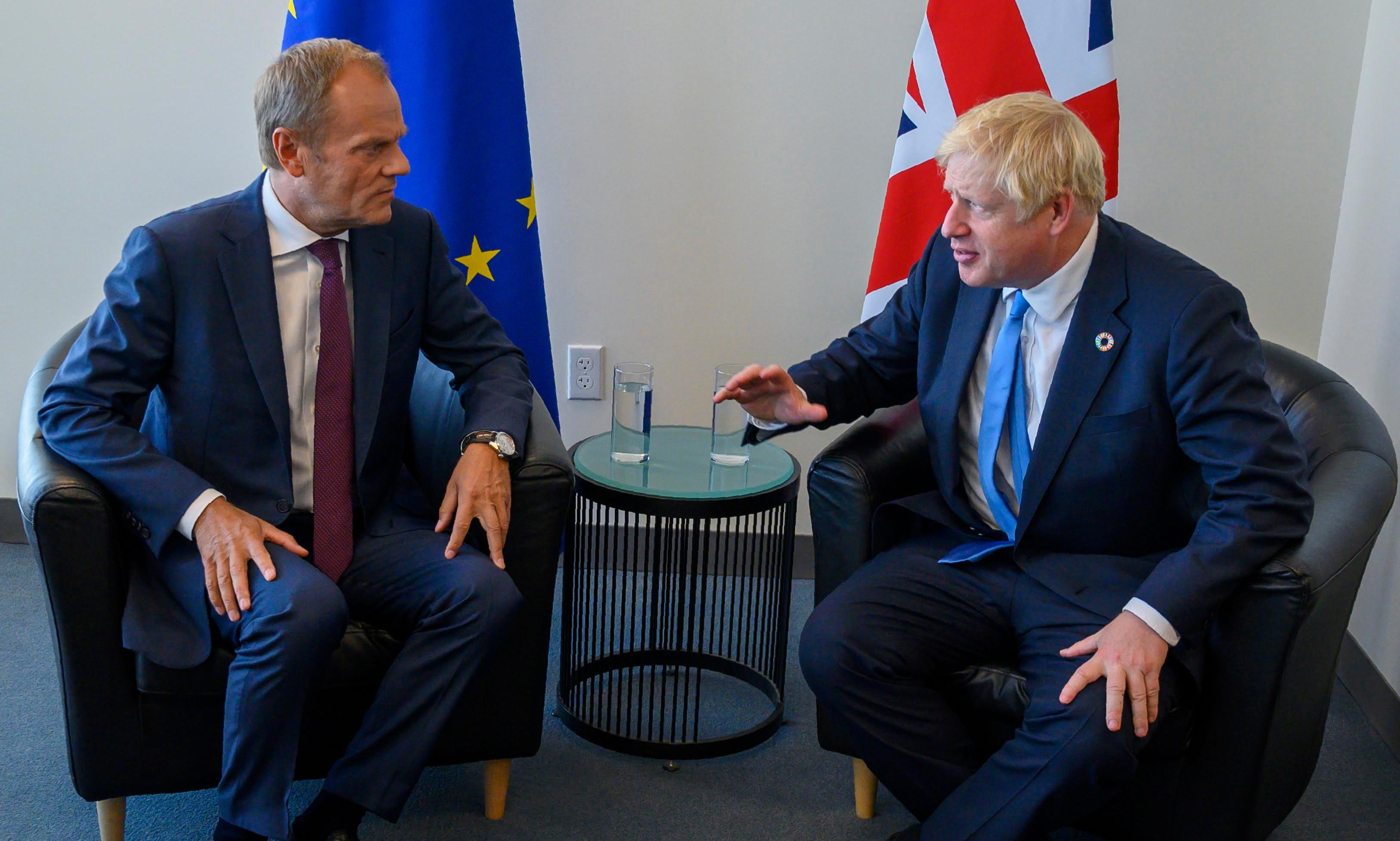 Brexit: Johnson sends unsigned letter asking for delay, and second arguing against it