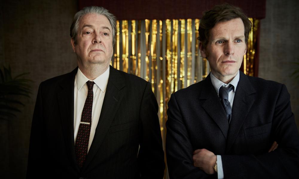 Roger Allam as DI Fred Thursday and Shaun Evans as Inspector Morse.