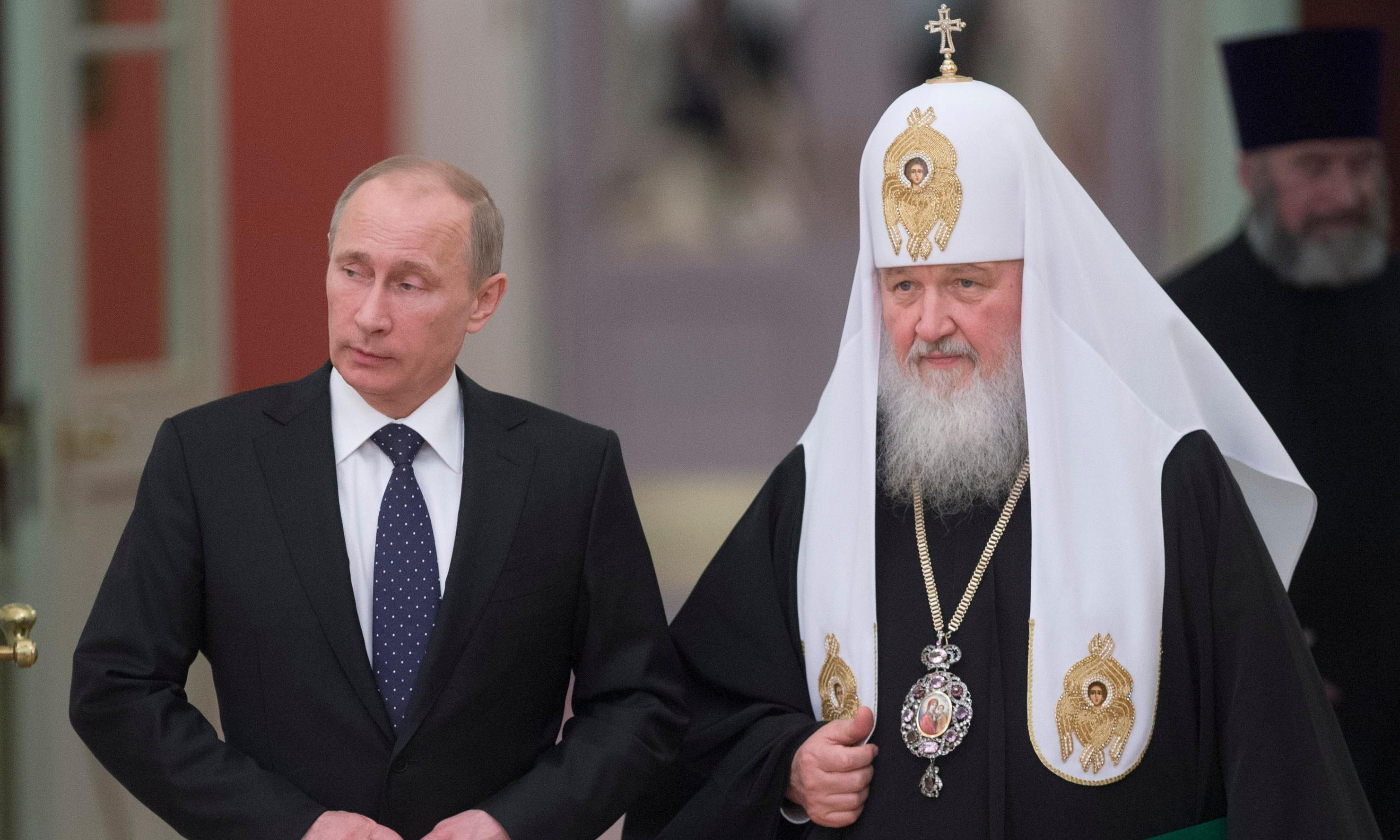 Archbishop's defiance threatens Putin's vision of Russian greatness