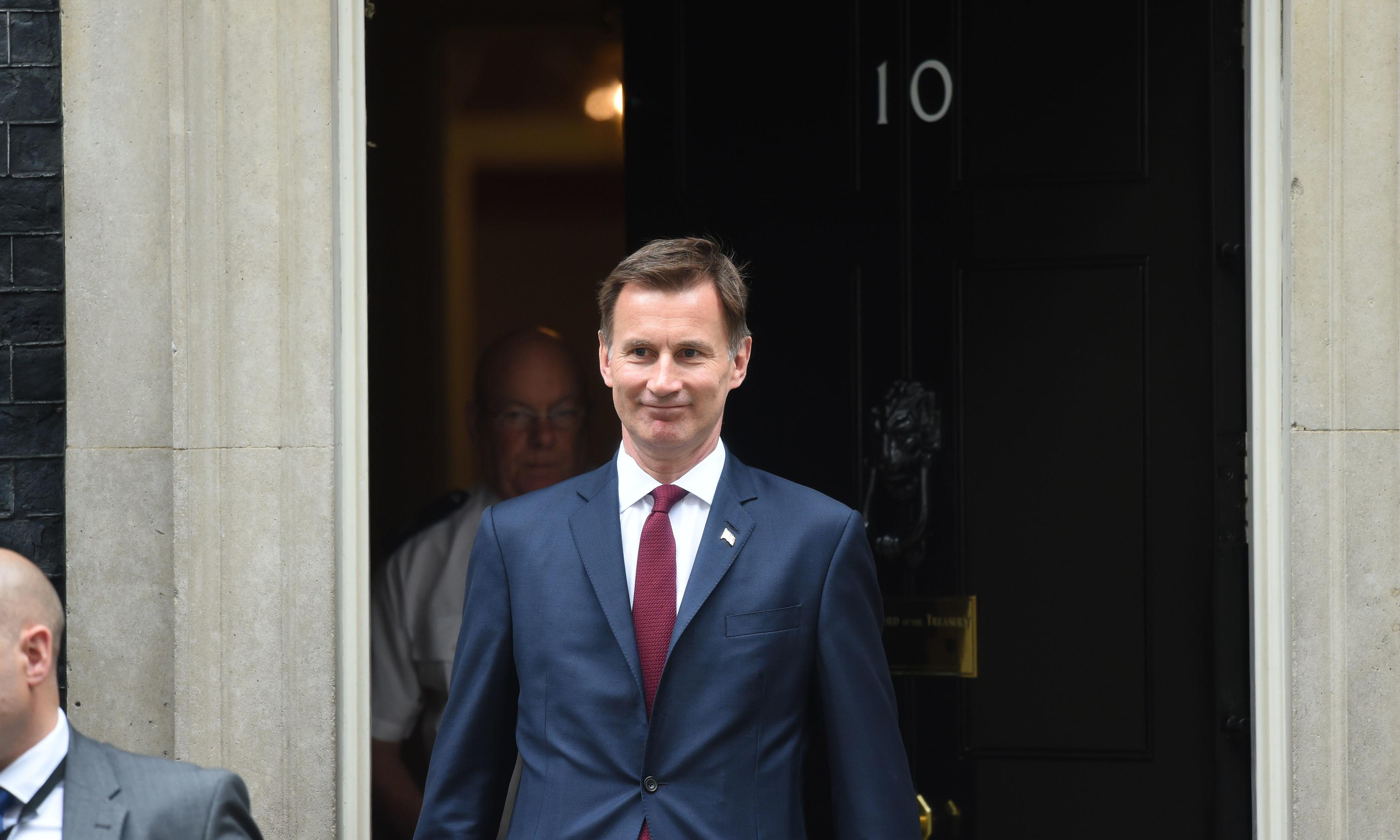 Jeremy Hunt says Boris Johnson can't be trusted on Brexit