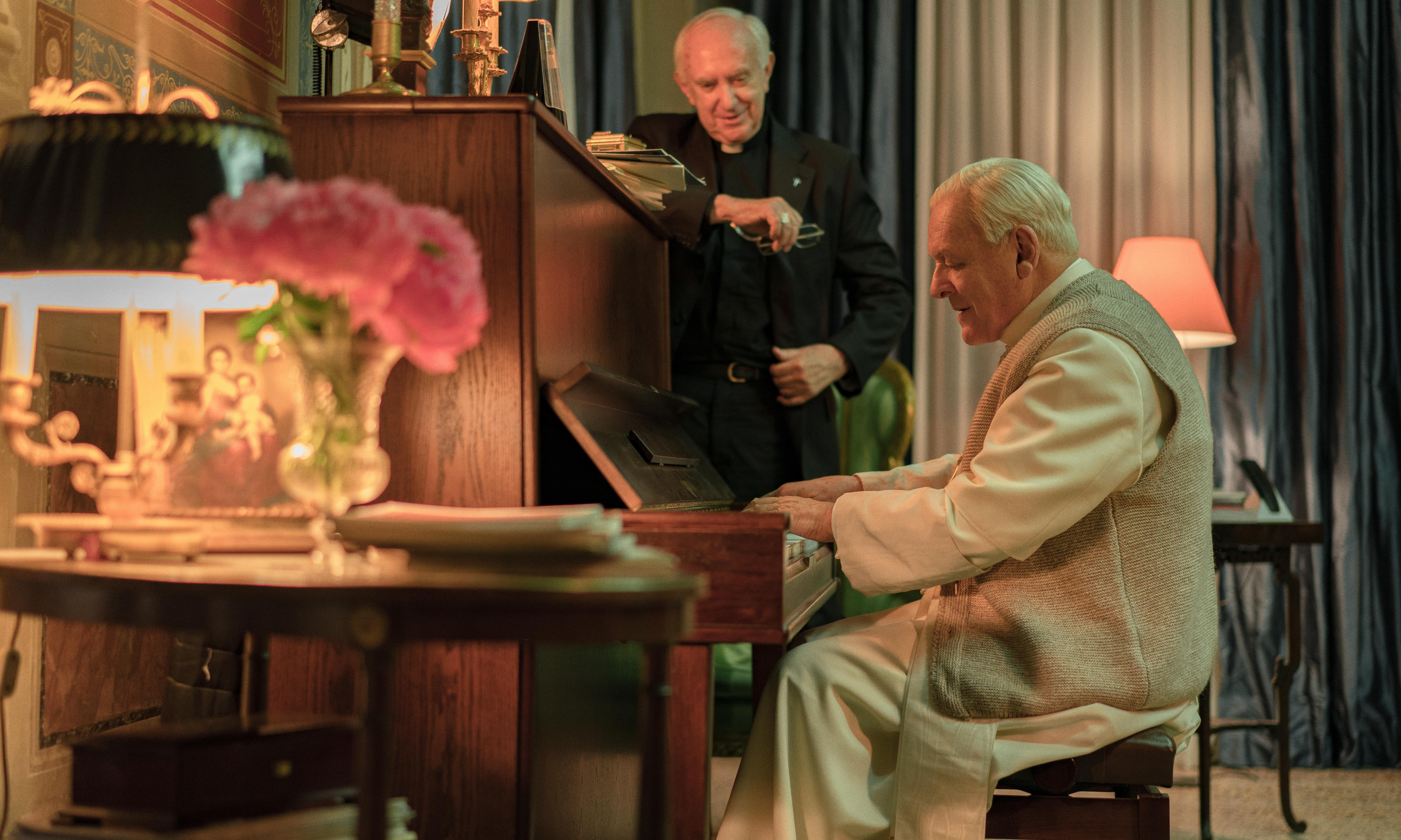 The Two Popes: Anthony Hopkins and Jonathan Pryce divine in papal faceoff