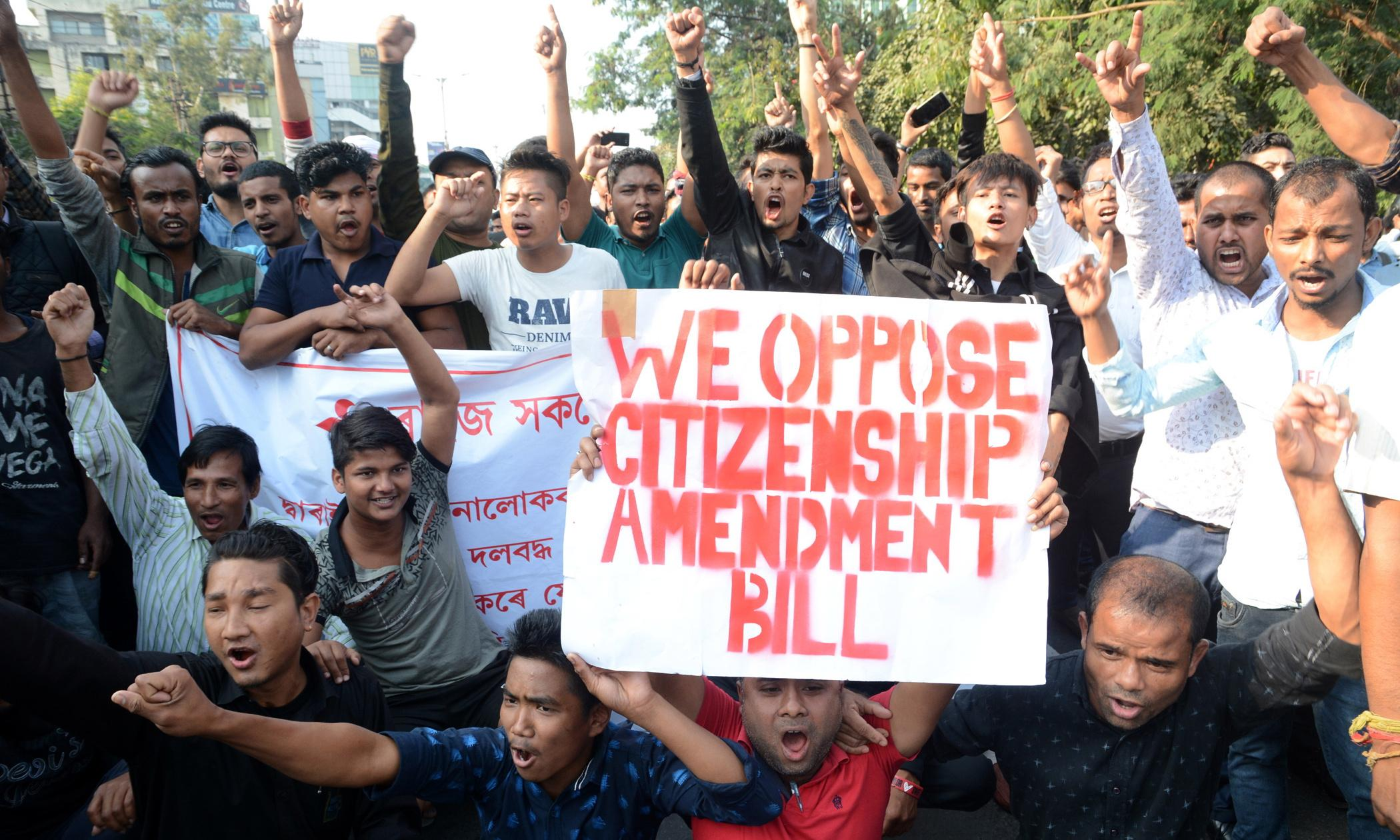 Indian citizenship law discriminatory to Muslims passed