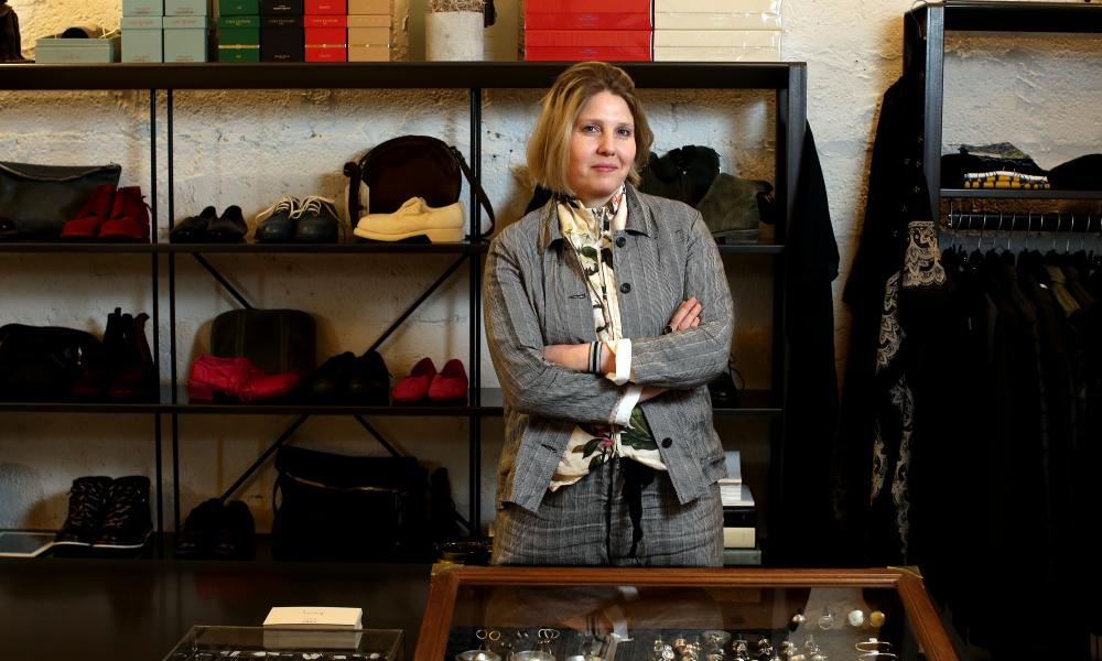 'We do well because we sell a lot of harder-to-find brands': Ruth Spence of Envoy of Belfast.
