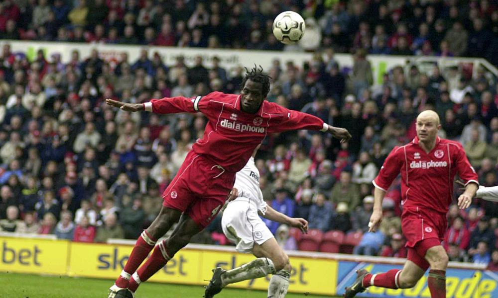 Ugo Ehiogu in action for Middlesbrough in March 2004. He was the club's then record signing, at £8m