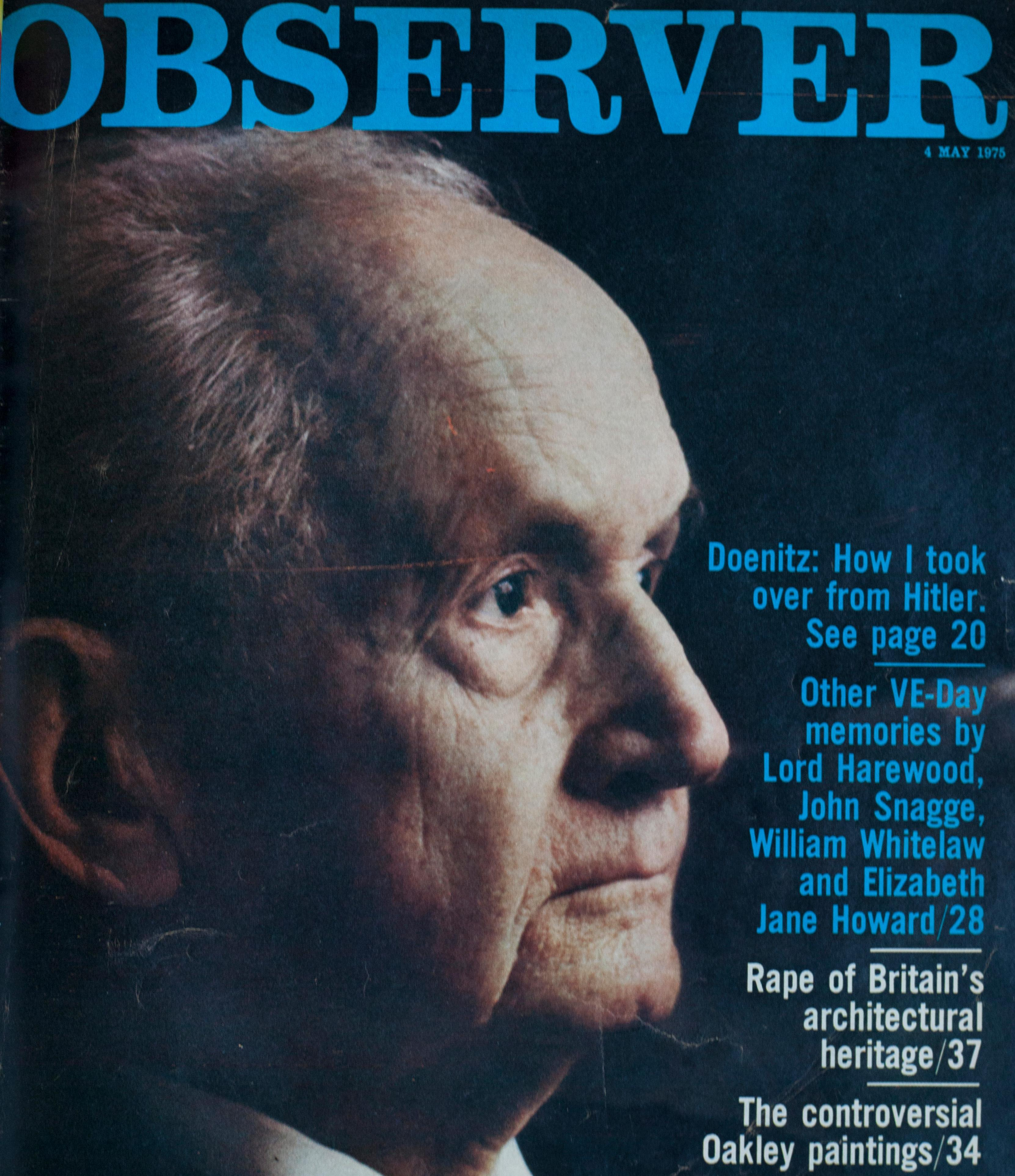 From the archive: The silence of Karl Doenitz