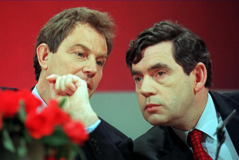 Tony Blair and Gordon Brown in 1997.