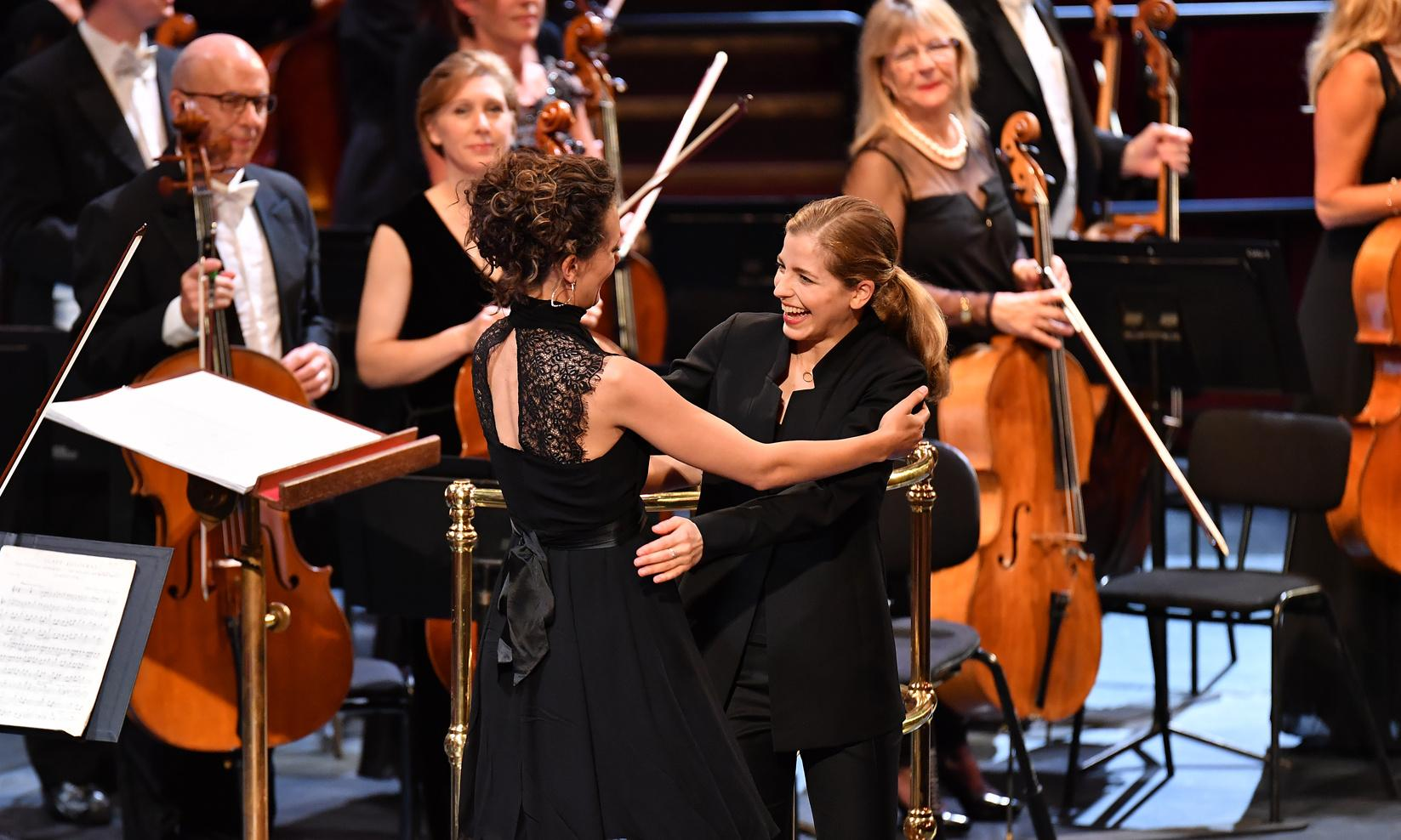 First night of the Proms review – the moon, and female stars