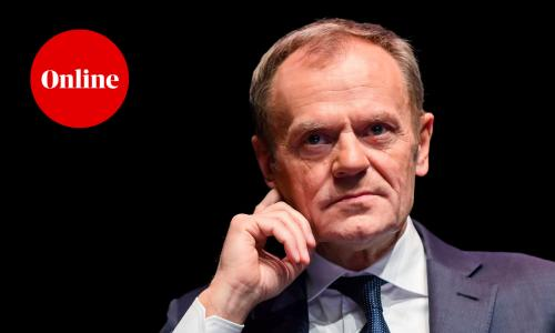Former European Council president Donald Tusk