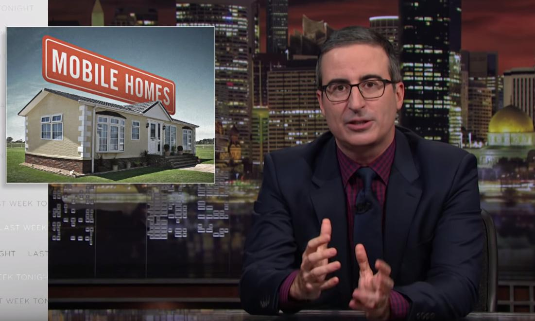 John Oliver rips private equity in mobile home parks as if 'income inequality came to life'