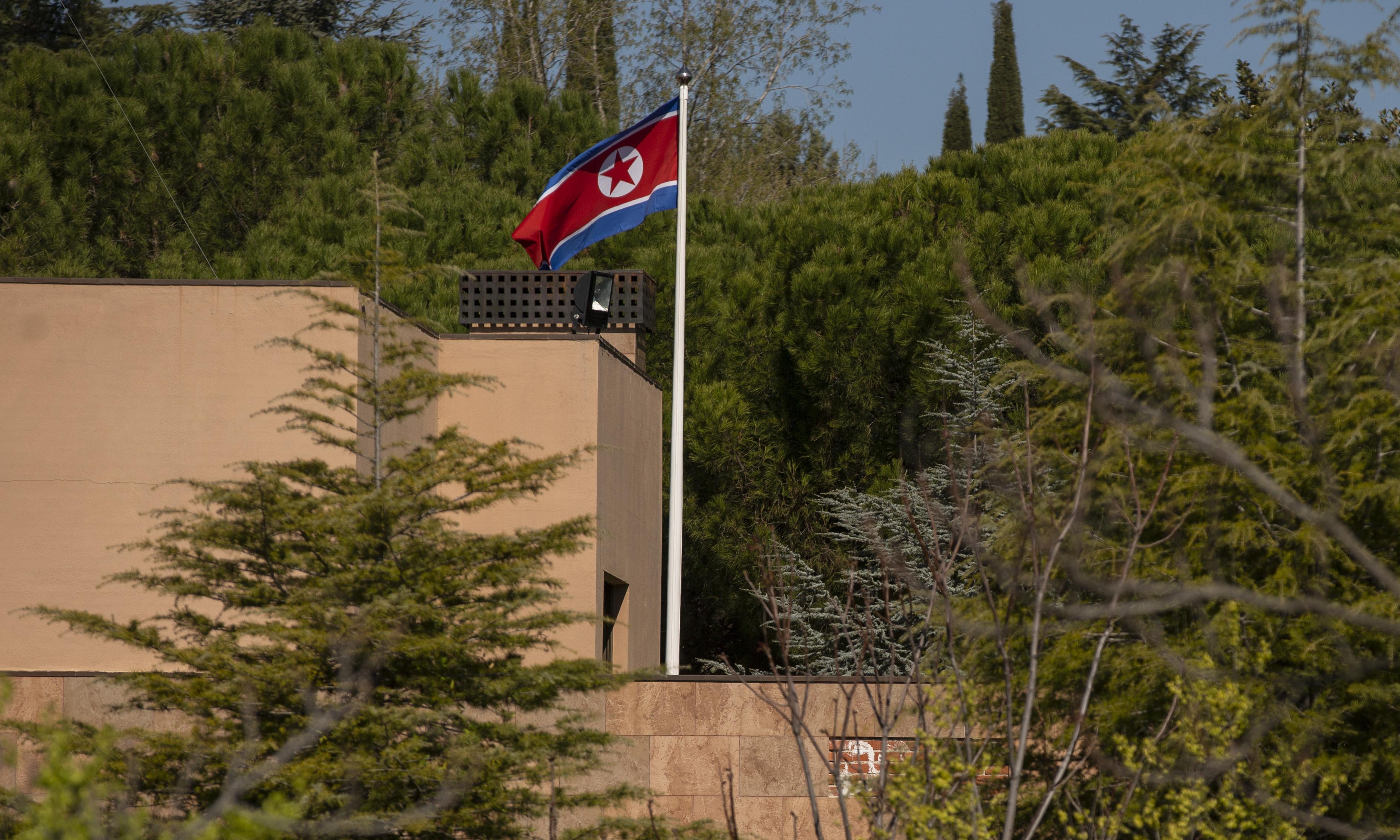 'Grave terrorist attack': North Korea condemns raid on its Madrid embassy