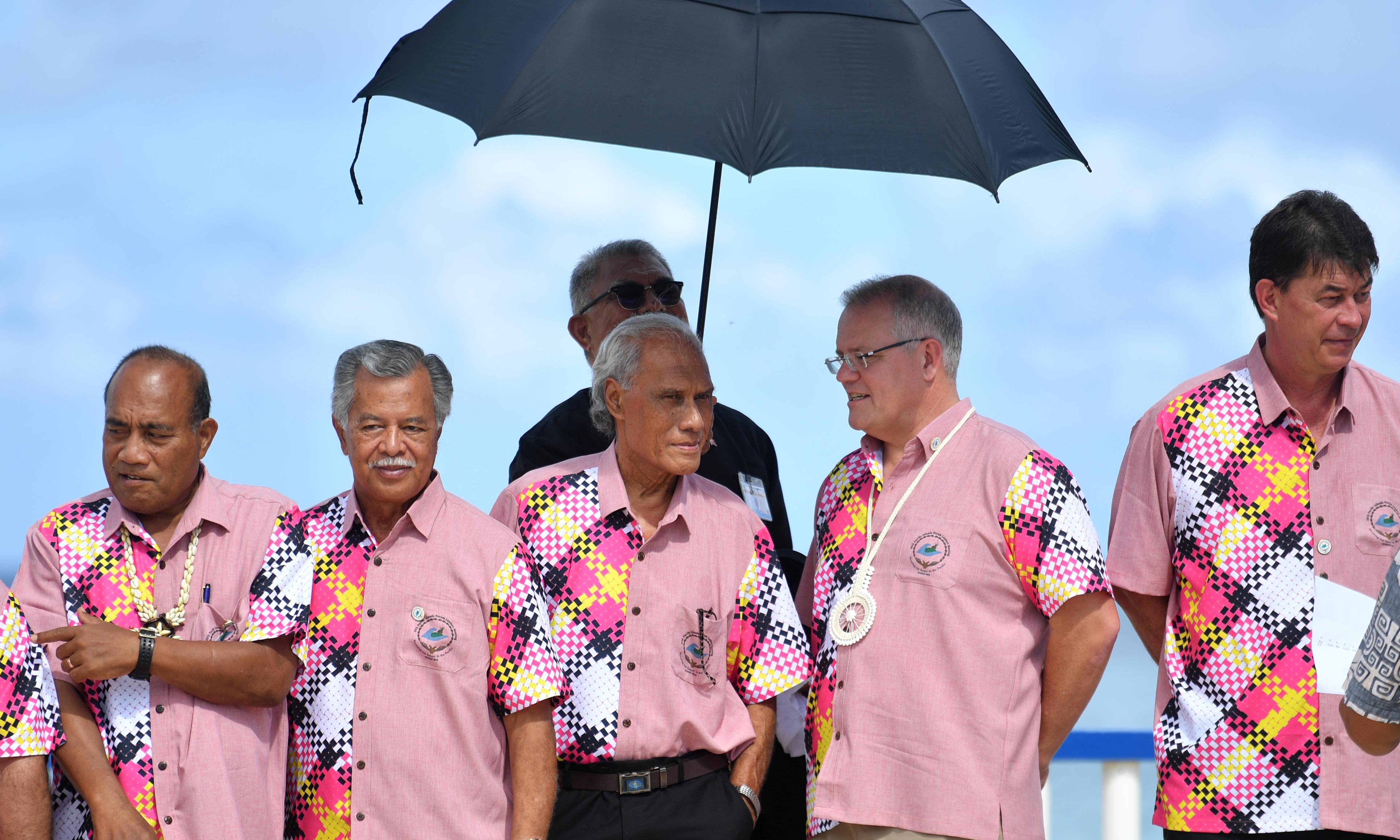 Australia waters down Pacific Islands plea on climate crisis