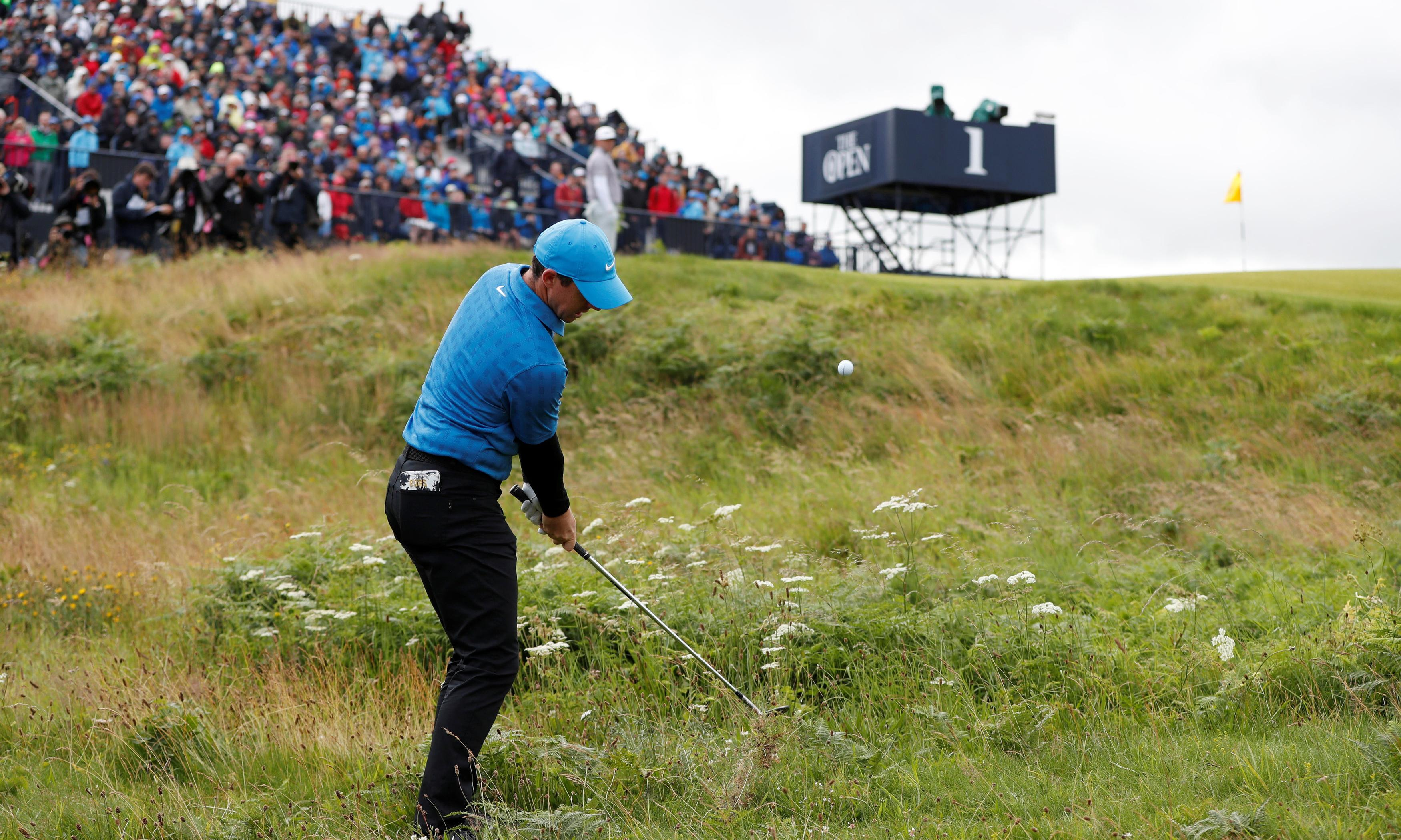 Rory McIlroy's talk of resilience cannot disguise horrible Open choke