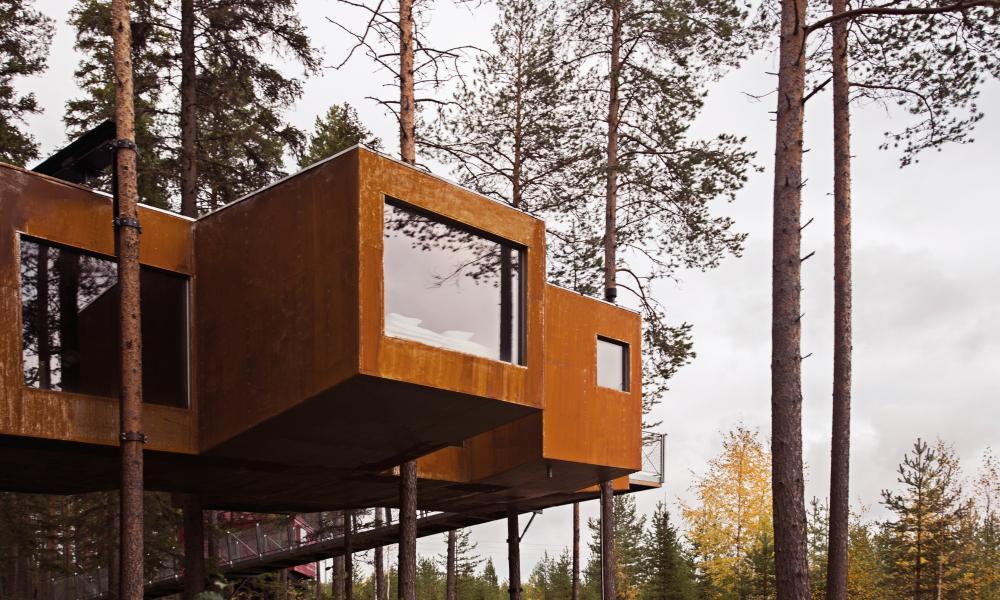 Treehotel, Sweden.