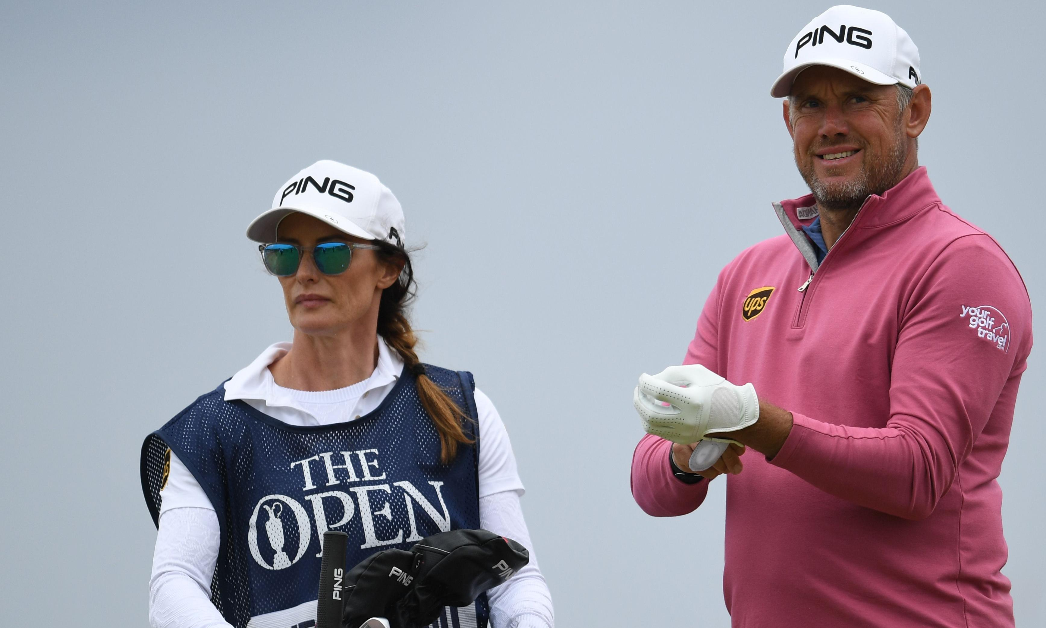 Lee Westwood's girlfriend and caddie Helen Storey proves a major boost