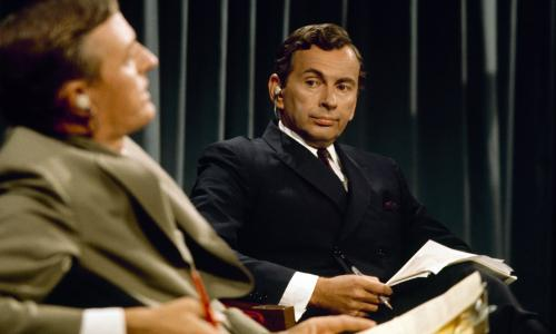 """ABC NEWS - ELECTION COVERAGE 1968 - """"Convention Coverage"""" - Airdate in August 1968.  WILLIAM BUCKLEY;GORE VIDAL"""