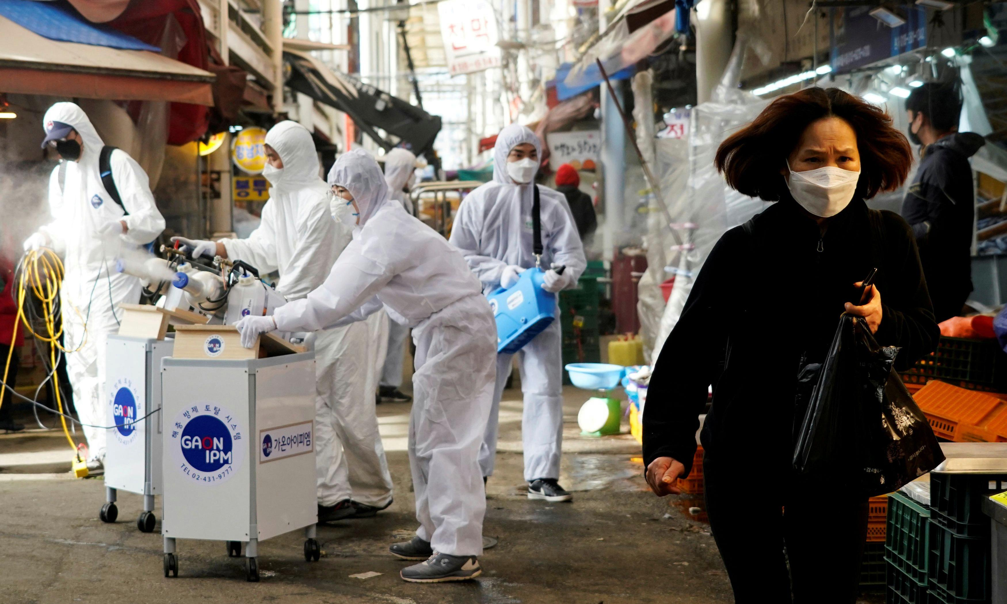 More new coronavirus cases outside China than inside, says WHO