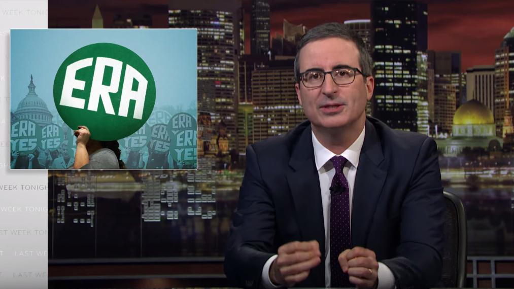 John Oliver: equal rights are 'so obvious, you assume we already have it'