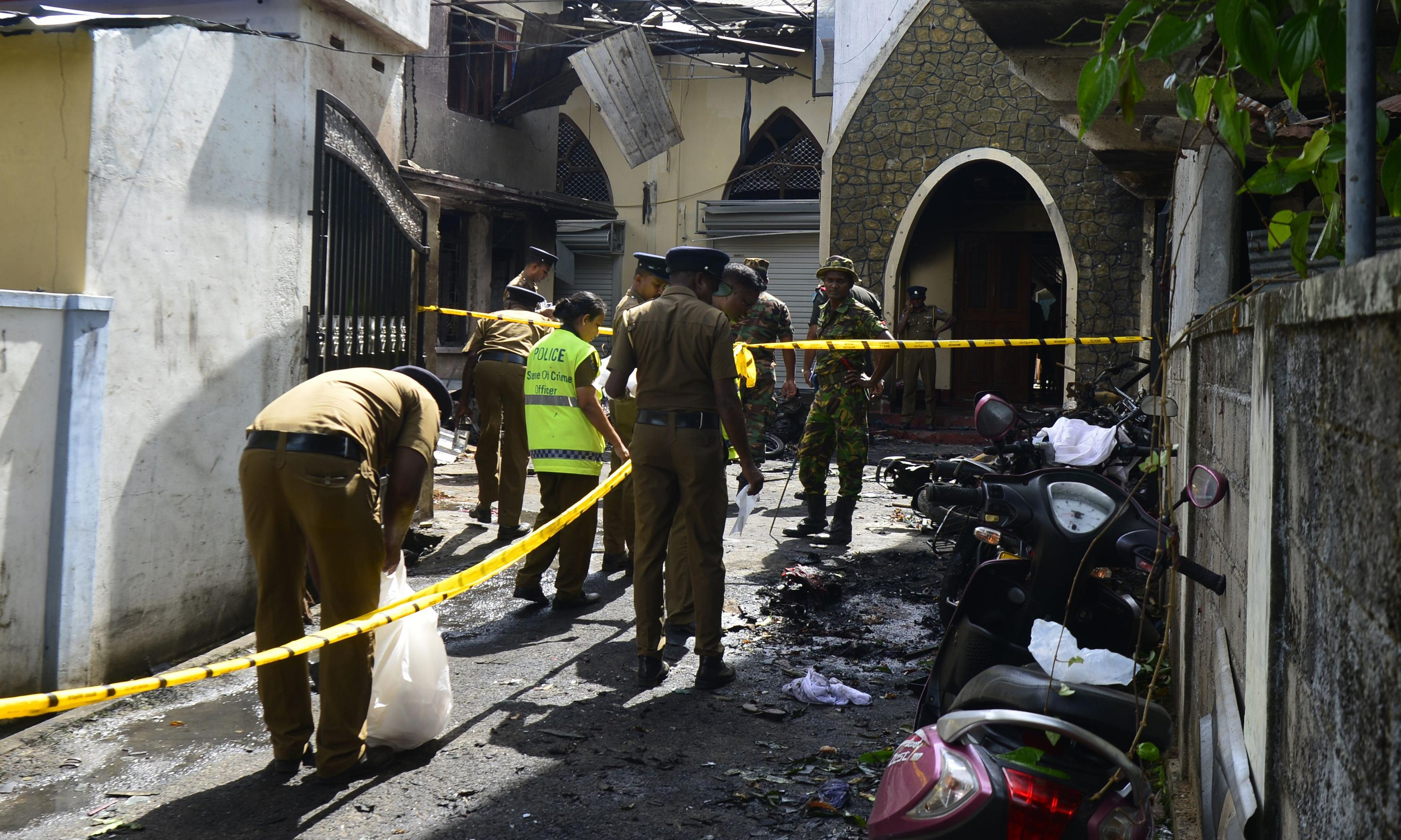 Sri Lanka: the worshipper who blocked bomber prevented further bloodshed