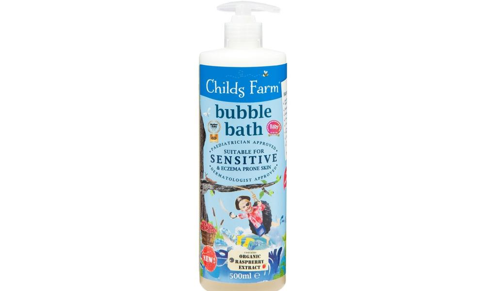 Child Farm organic raspberry bubble bath