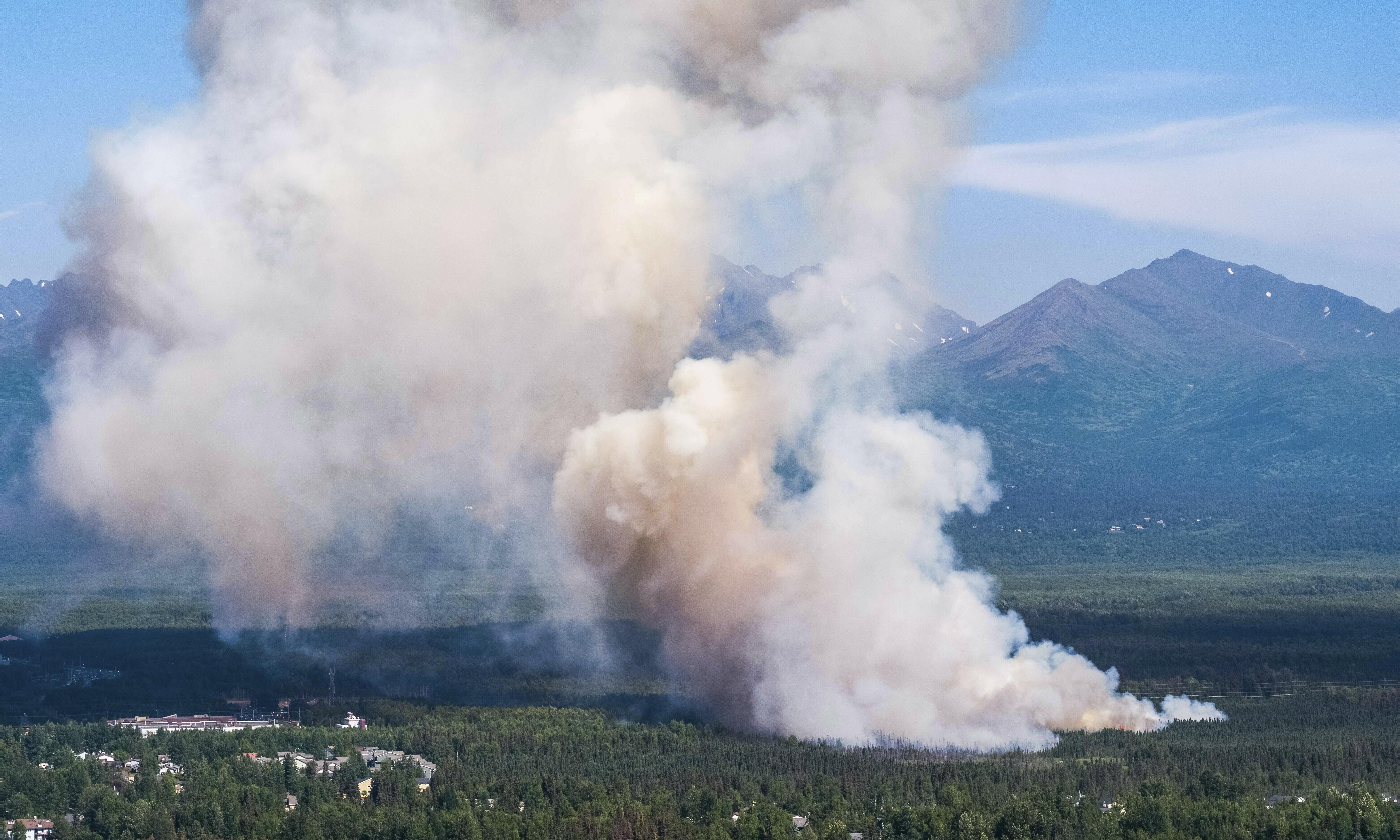 'There is no silver lining': why Alaska fires are a glimpse of our climate future