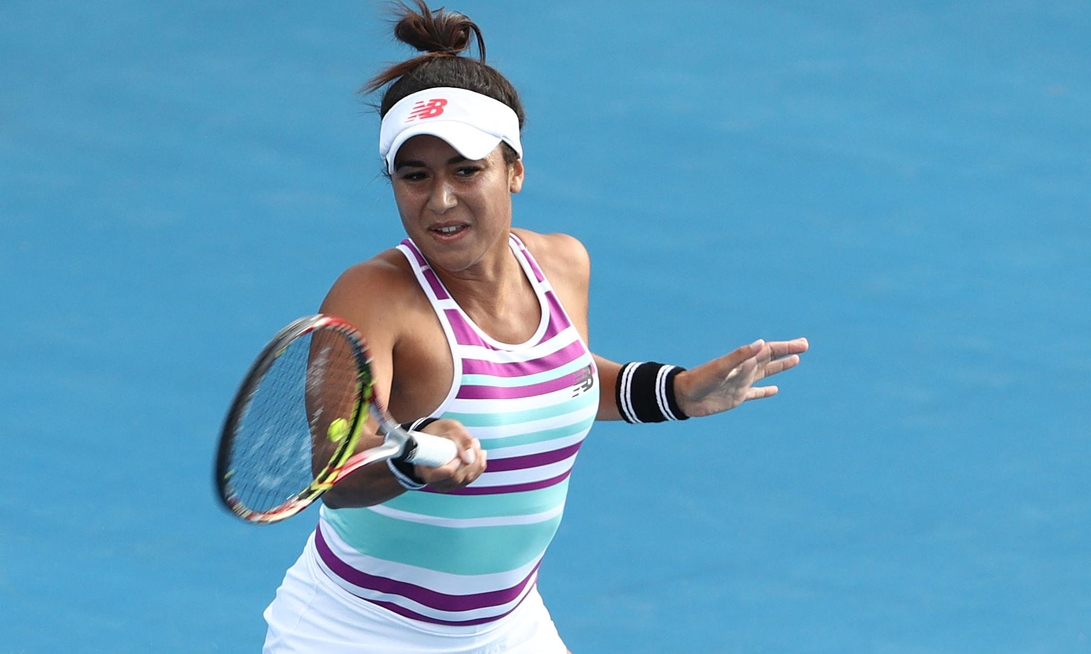 Heather Watson powers into first WTA final in over three years