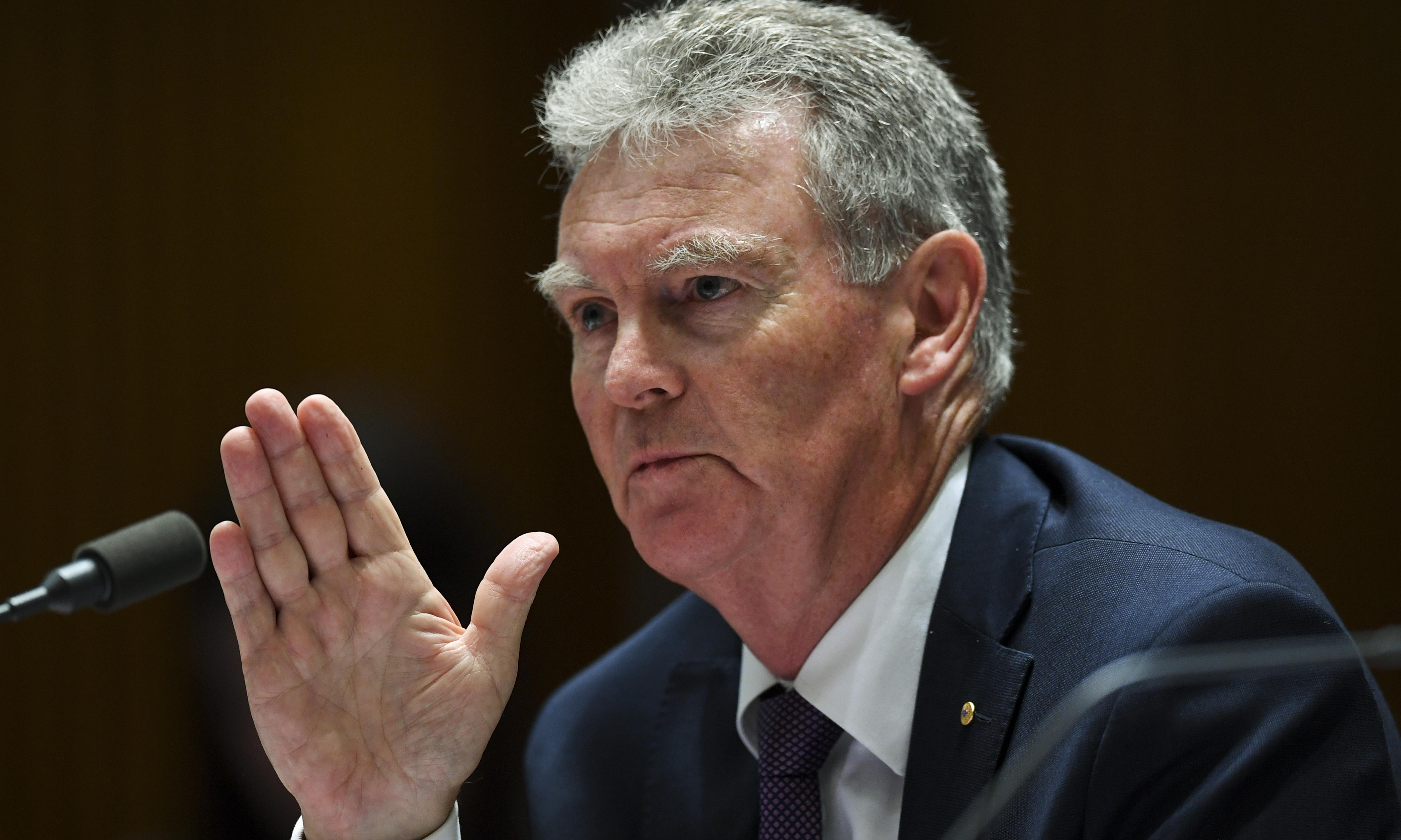 Asio chief warns against sharing officer's name on social media after Queensland blunder