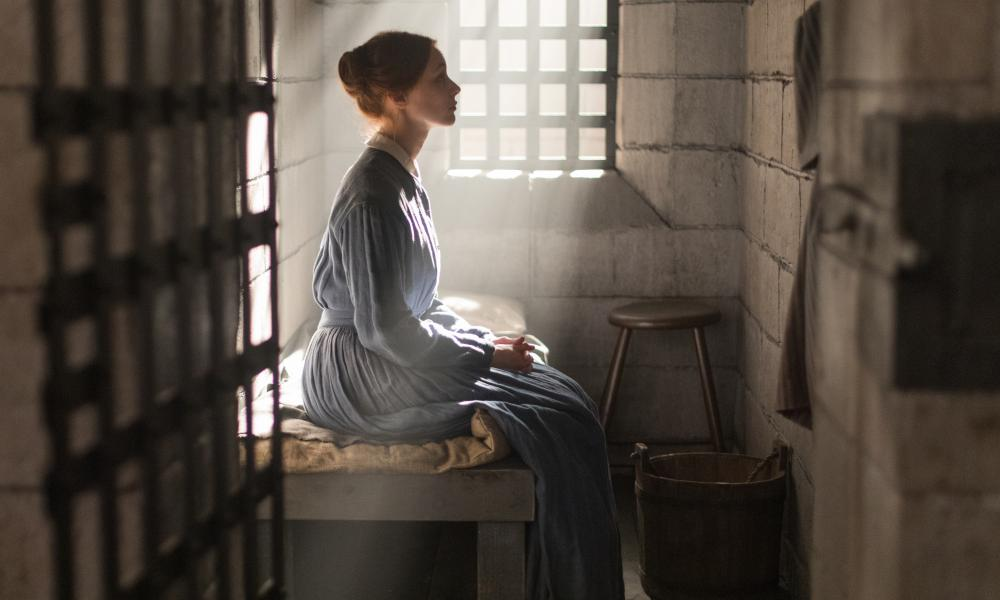 Sarah Gadon in the TV adaptation of Alias Grace.