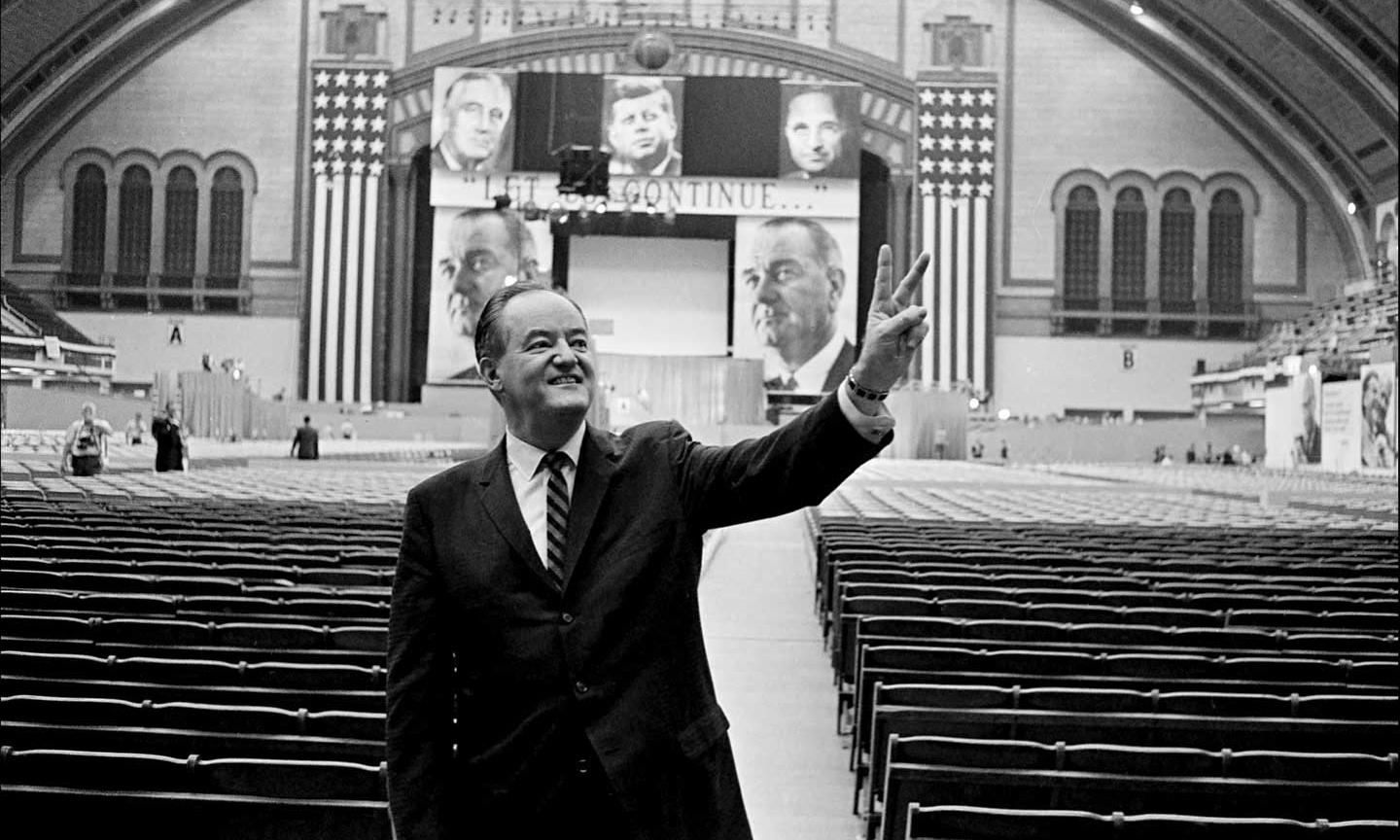 Trump is peddling hate in Minnesota. To defeat him, look to Hubert Humphrey