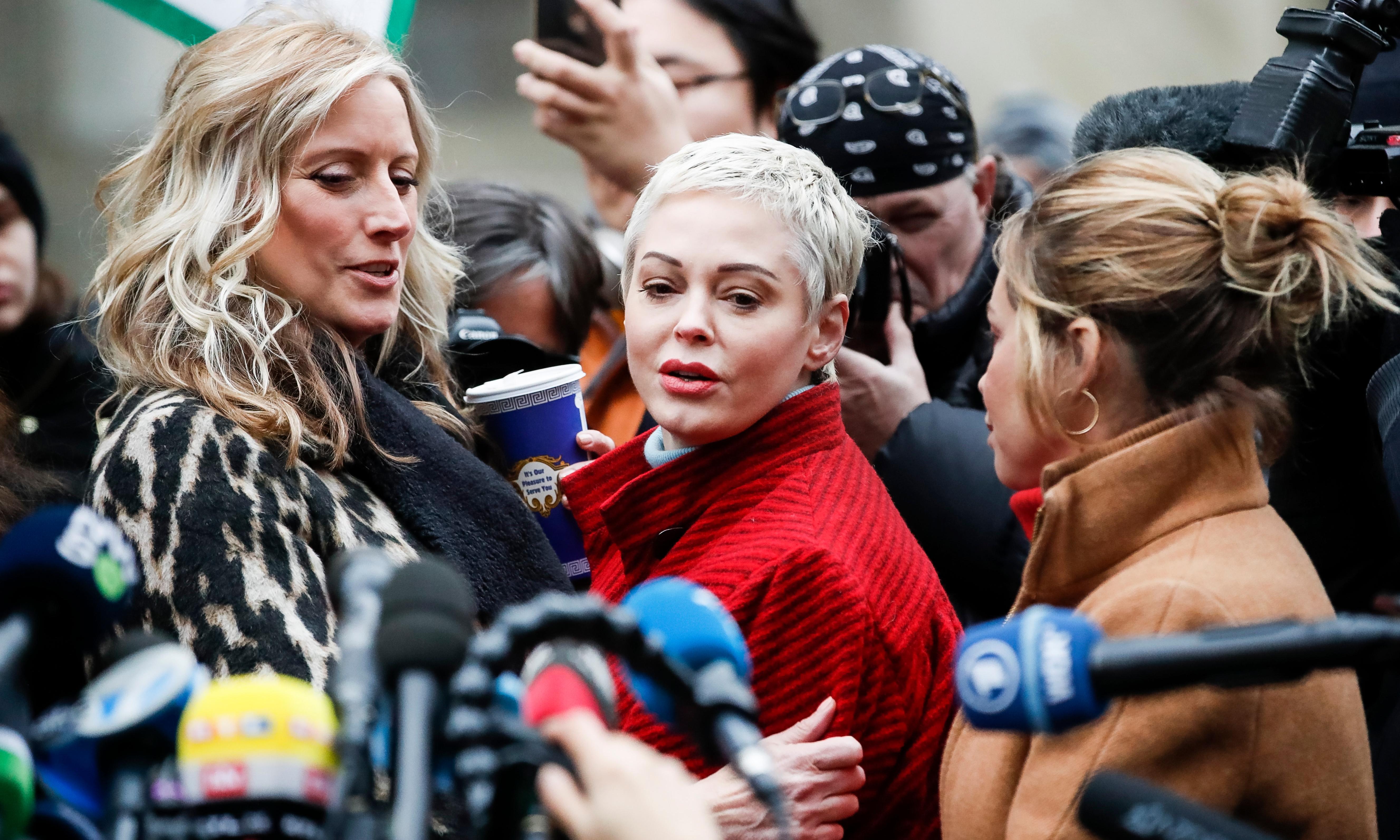 Rose McGowan says she regrets Natalie Portman Oscars dress comments