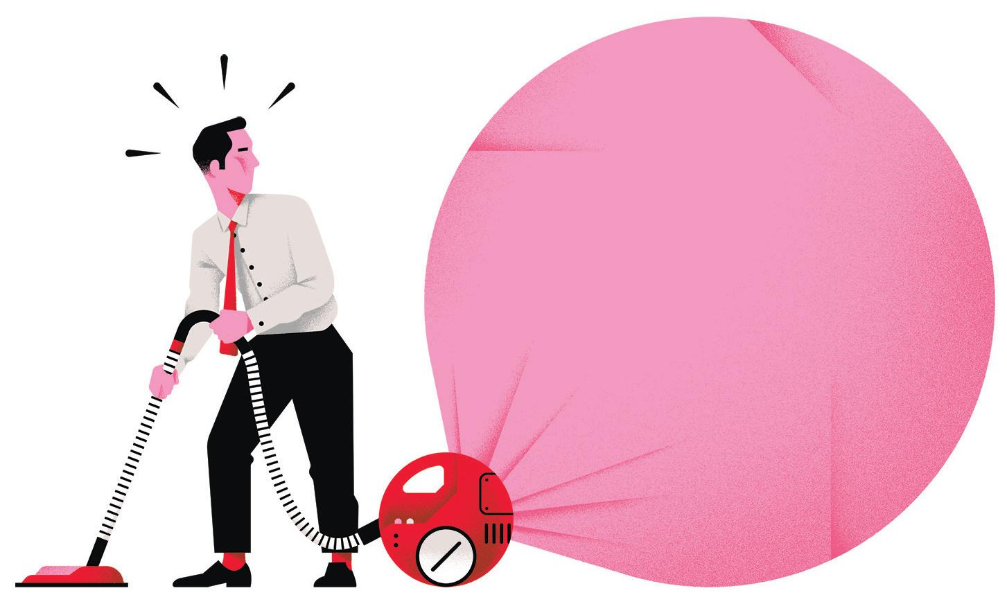 'Delegate but the buck stops with you': how to end the housework wars