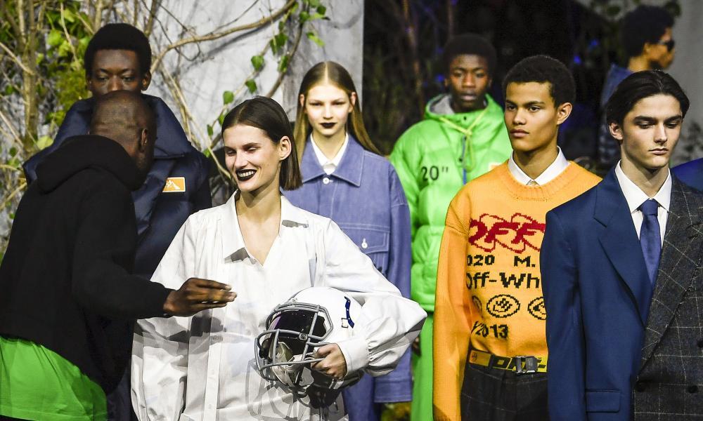 Off-White at Paris men's fashion week