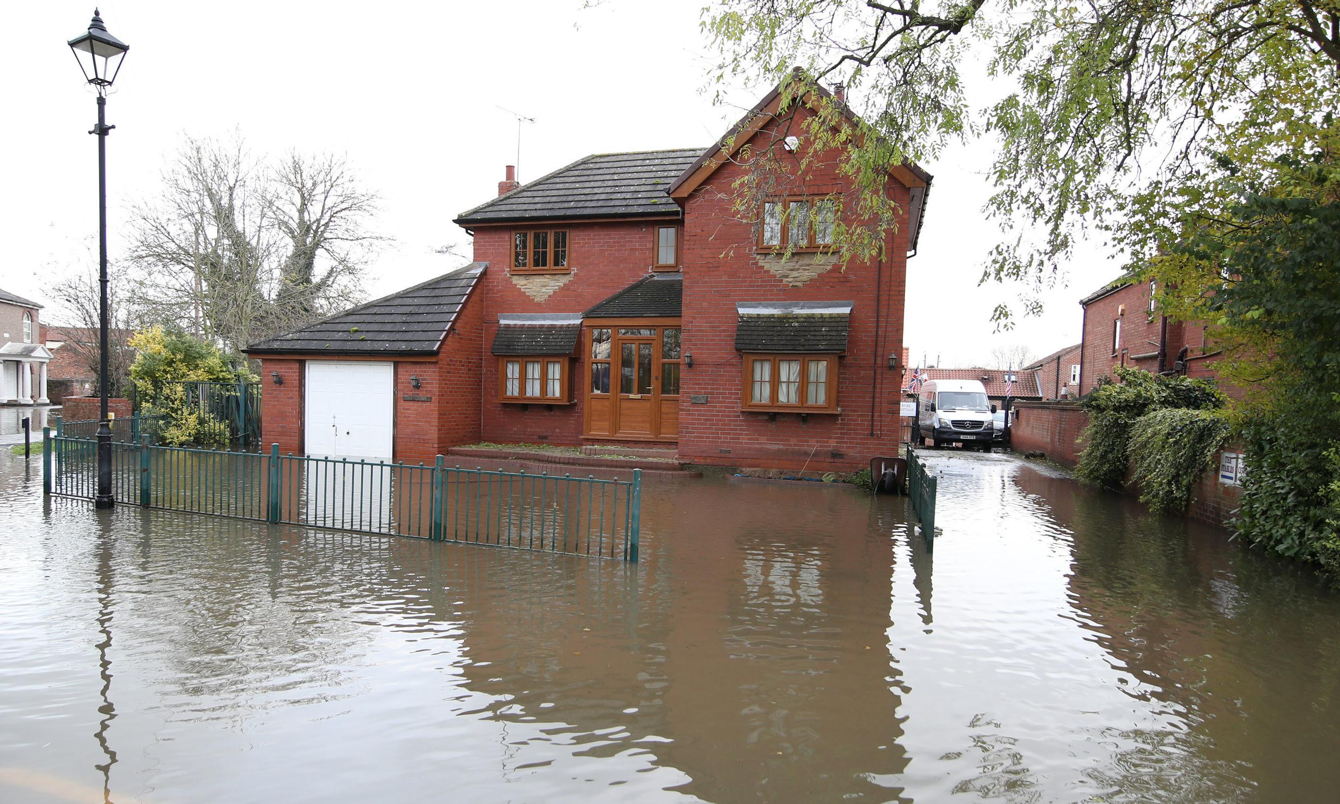 One in 10 new homes in England built on land with high flood risk